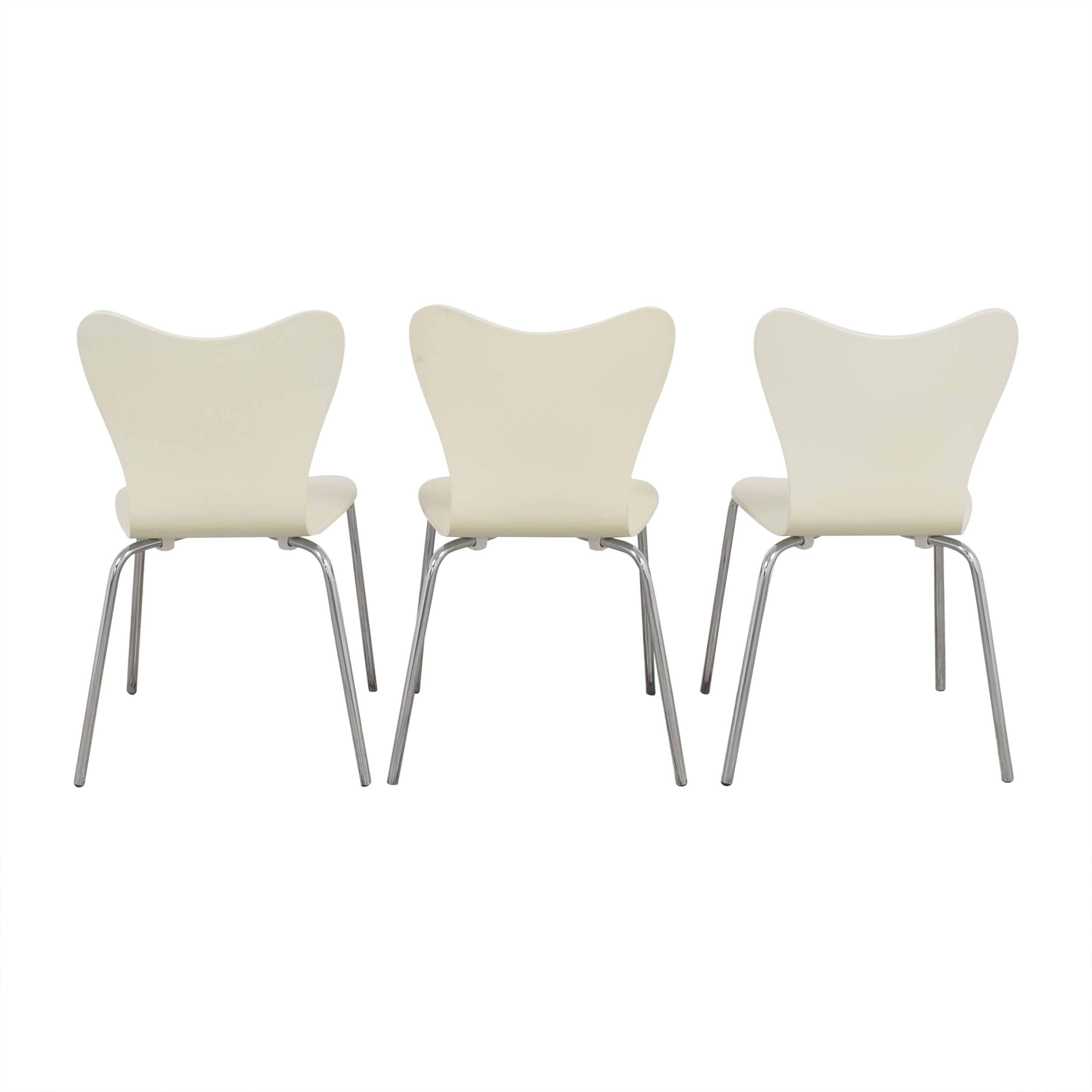 buy West Elm Scoop Back Dining Chairs West Elm Dining Chairs