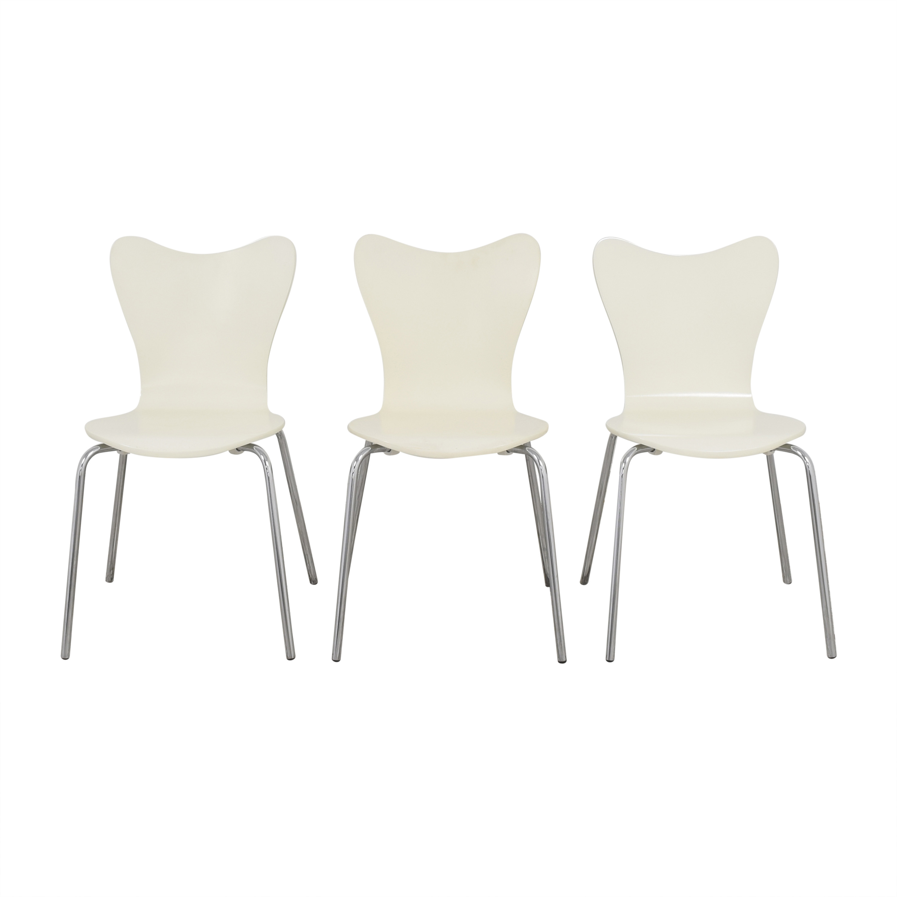 West Elm West Elm Scoop Back Dining Chairs pa