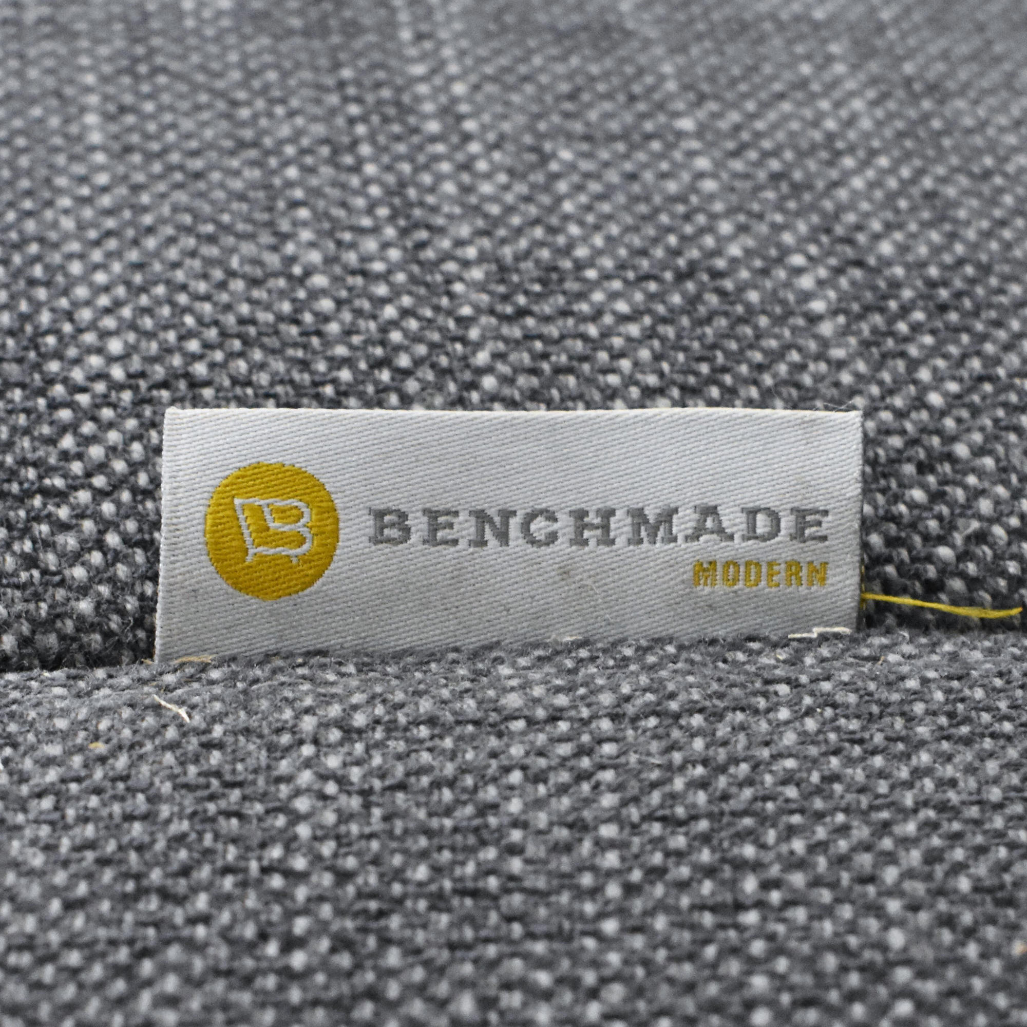 BenchMade Modern BenchMade Modern Skinny Fat Sofa With Chaise nyc