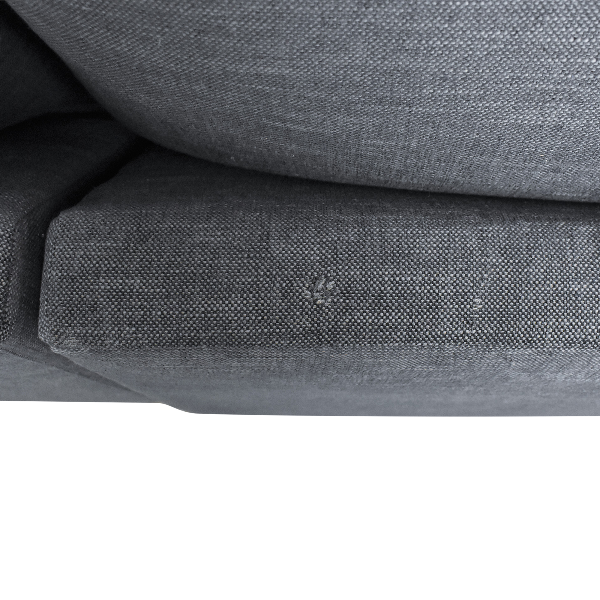 BenchMade Modern Skinny Fat Sofa With Chaise / Sectionals