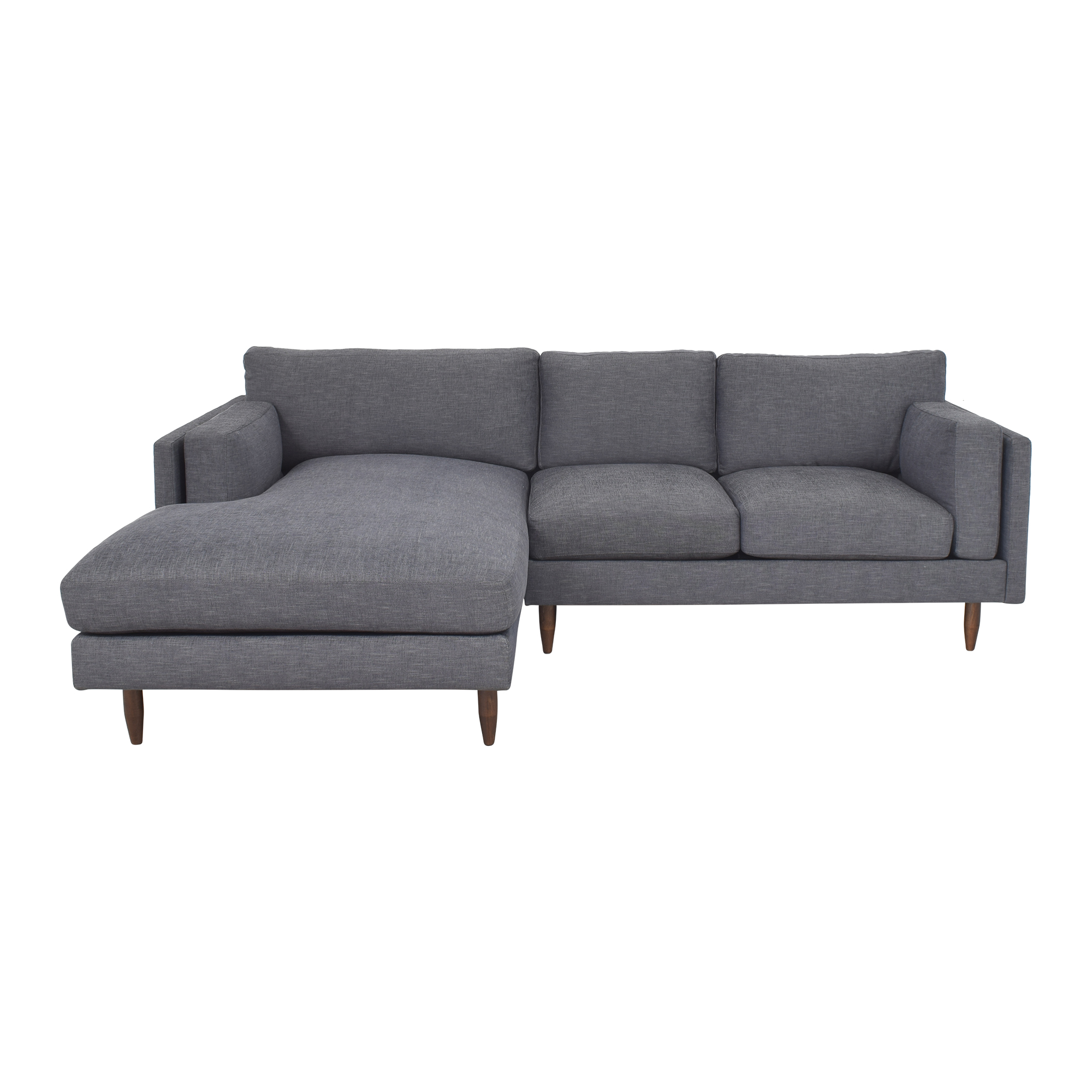 BenchMade Modern BenchMade Modern Skinny Fat Sofa With Chaise ct
