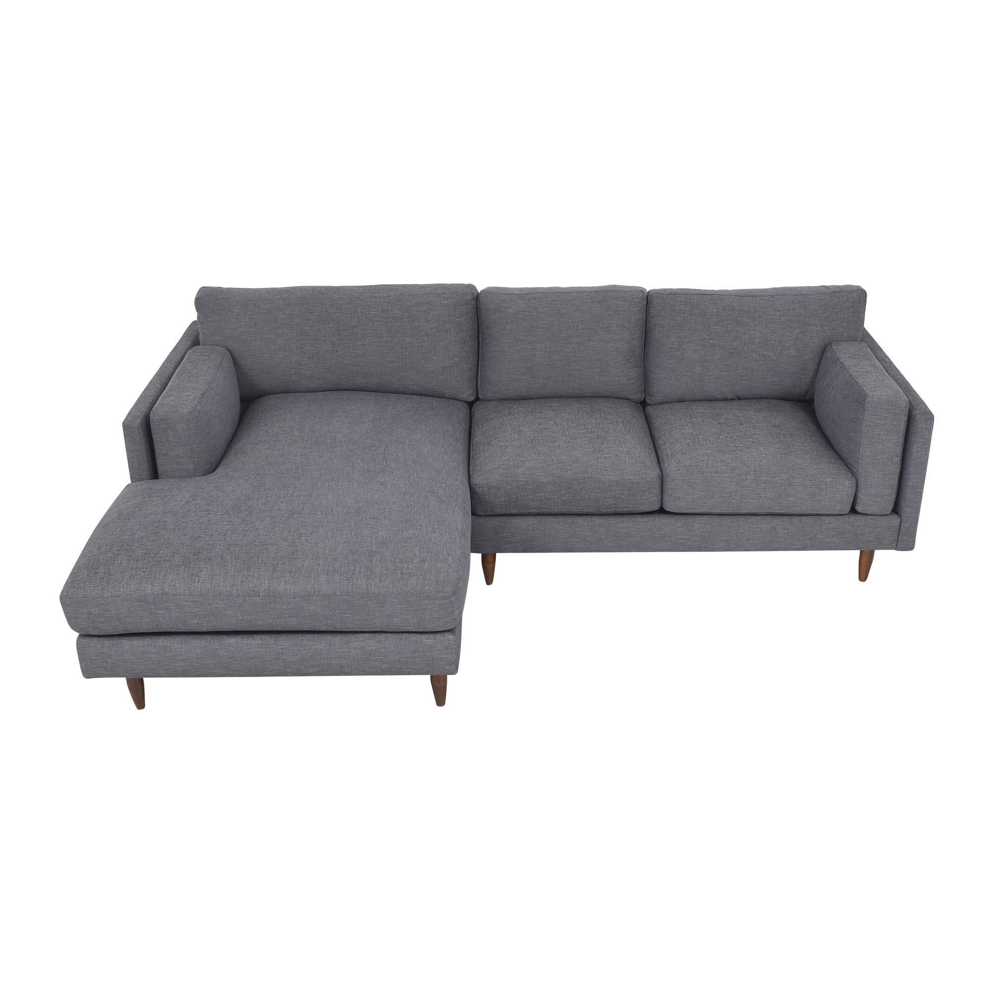 BenchMade Modern BenchMade Modern Skinny Fat Sofa With Chaise