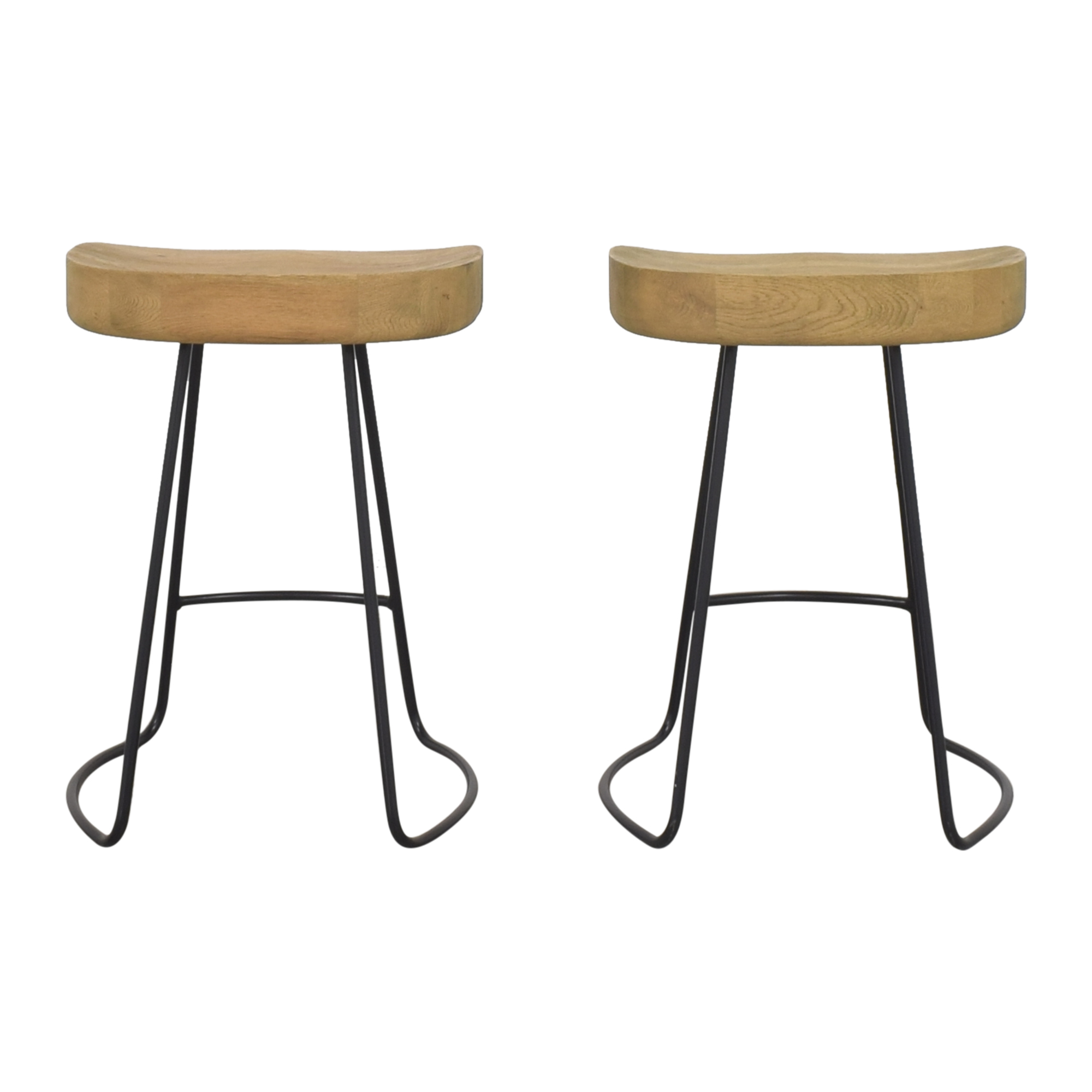 Restoration Hardware Restoration Hardware 1950s Tractor Seat Counter Stools on sale