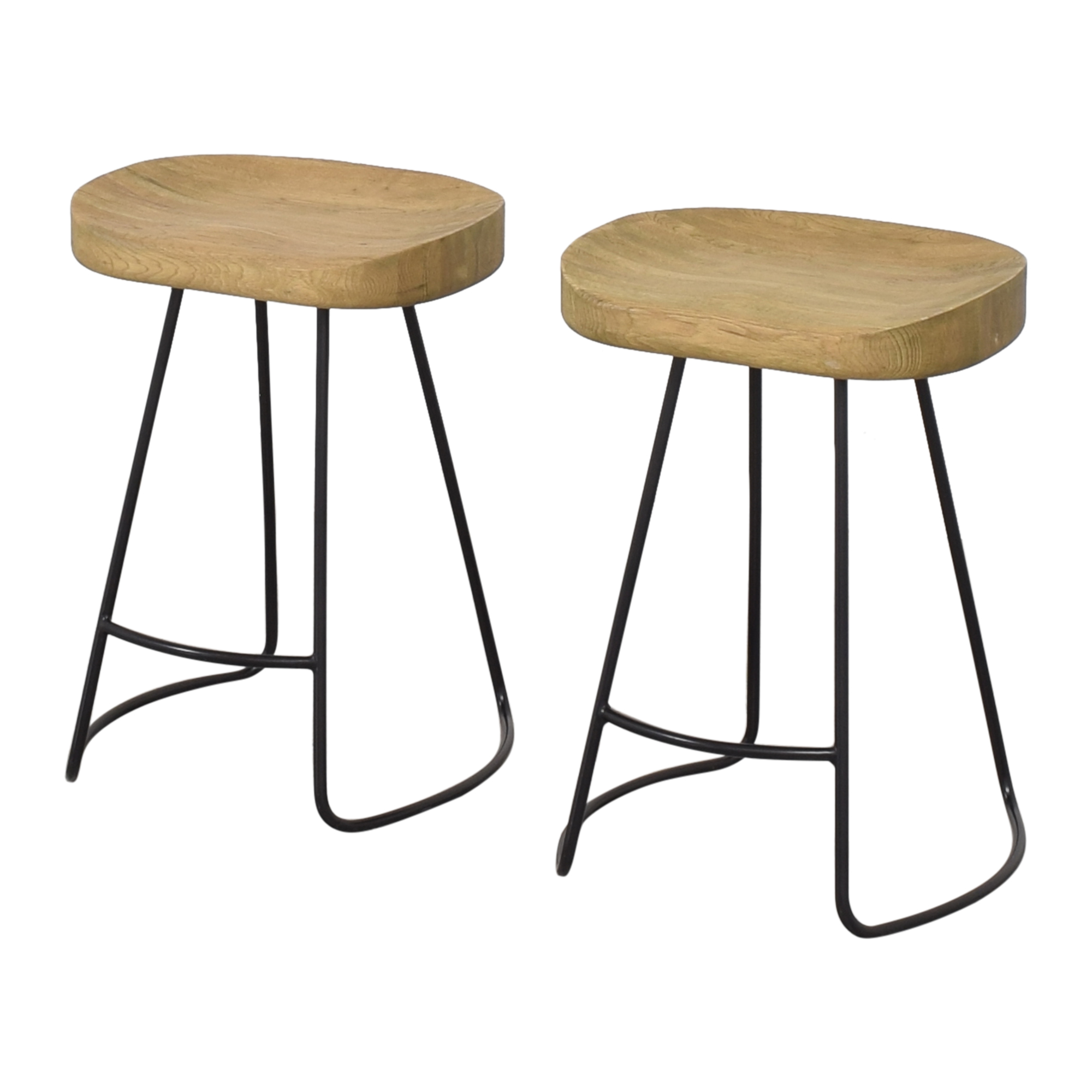 Restoration Hardware 1950s Tractor Seat Counter Stools / Stools