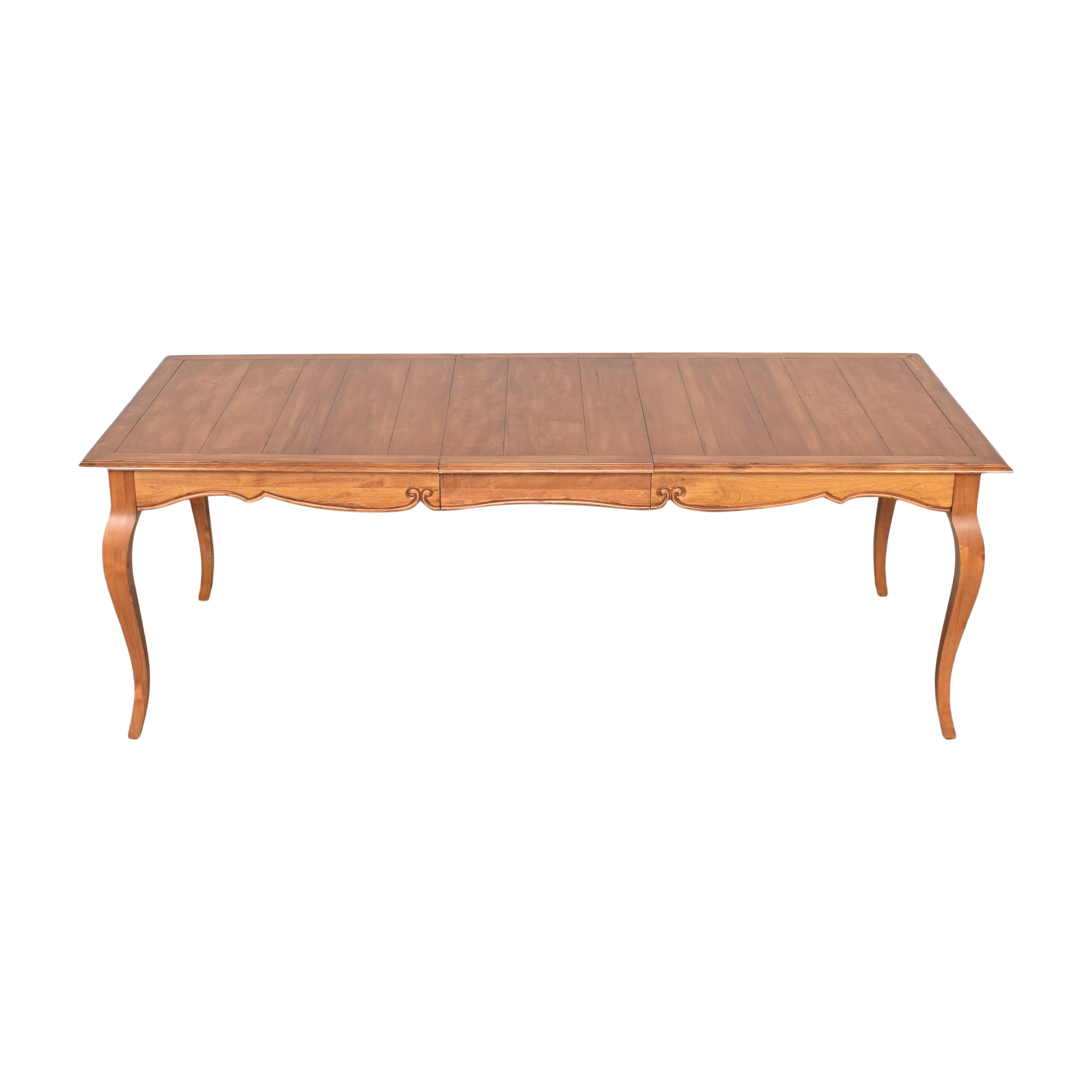 Ethan Allen Ethan Allen Legacy Collection Extendable Dining Table used
