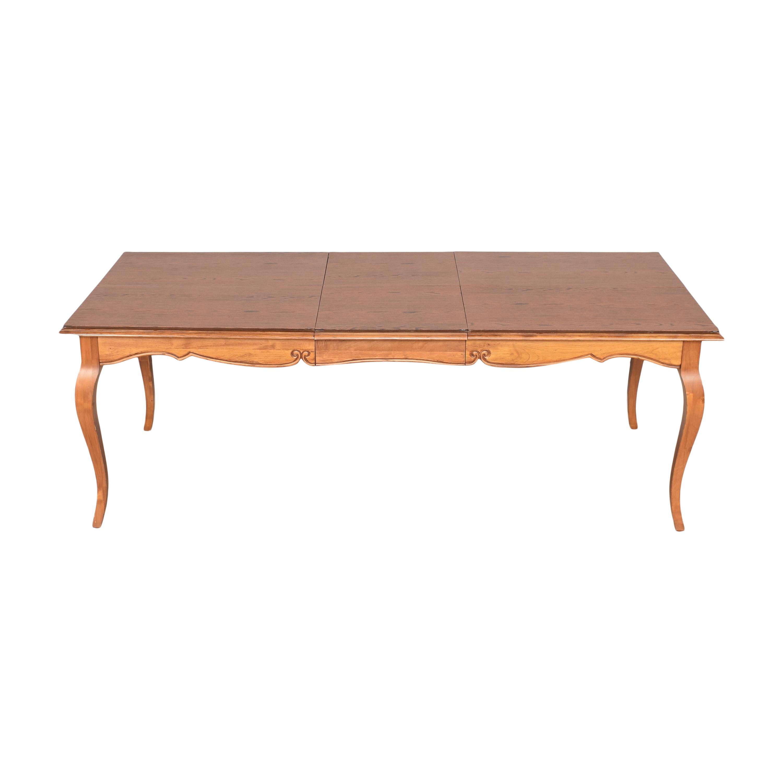 shop Ethan Allen Legacy Collection Extendable Dining Table Ethan Allen