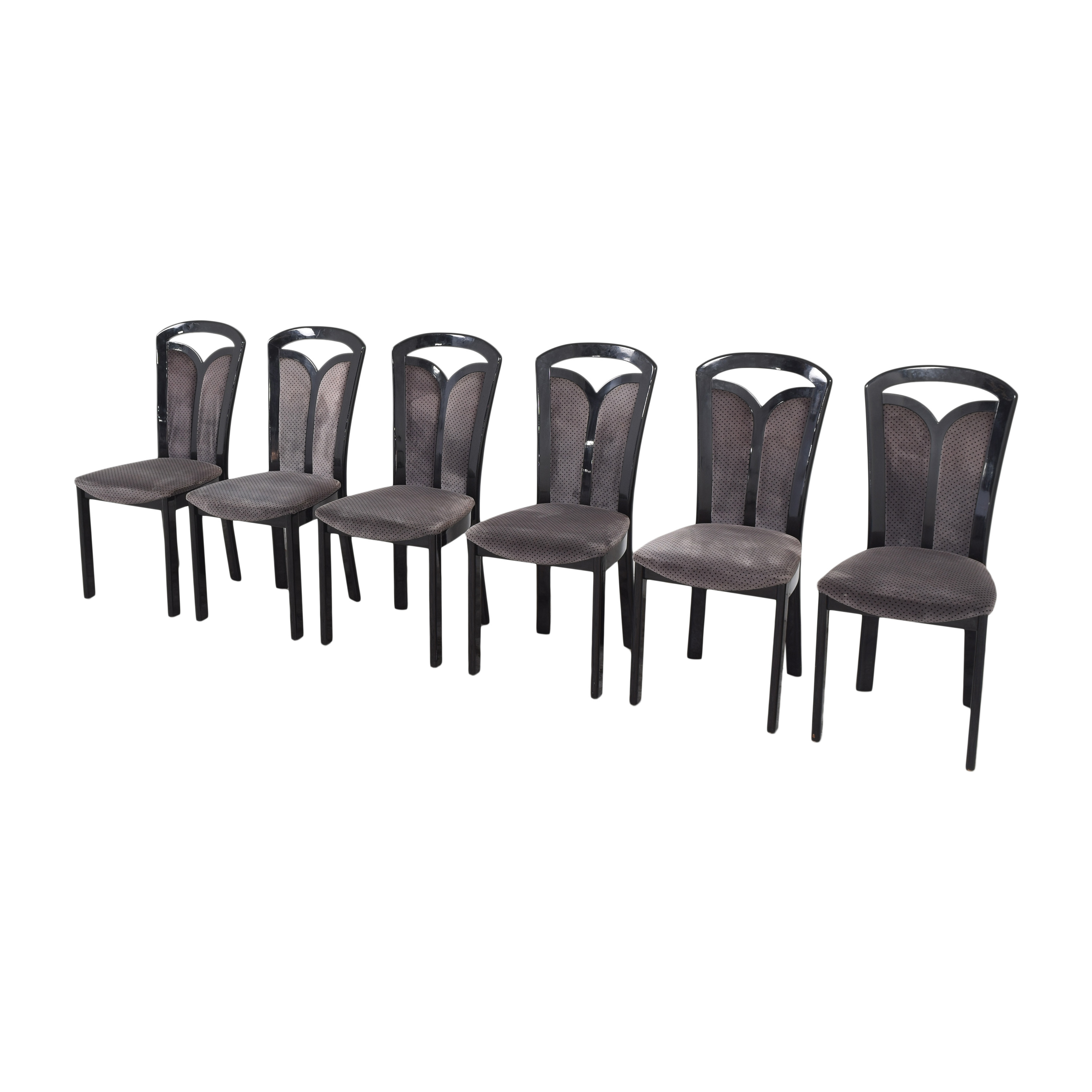 buy Maurice Villency High Back Dining Chairs Maurice Villency