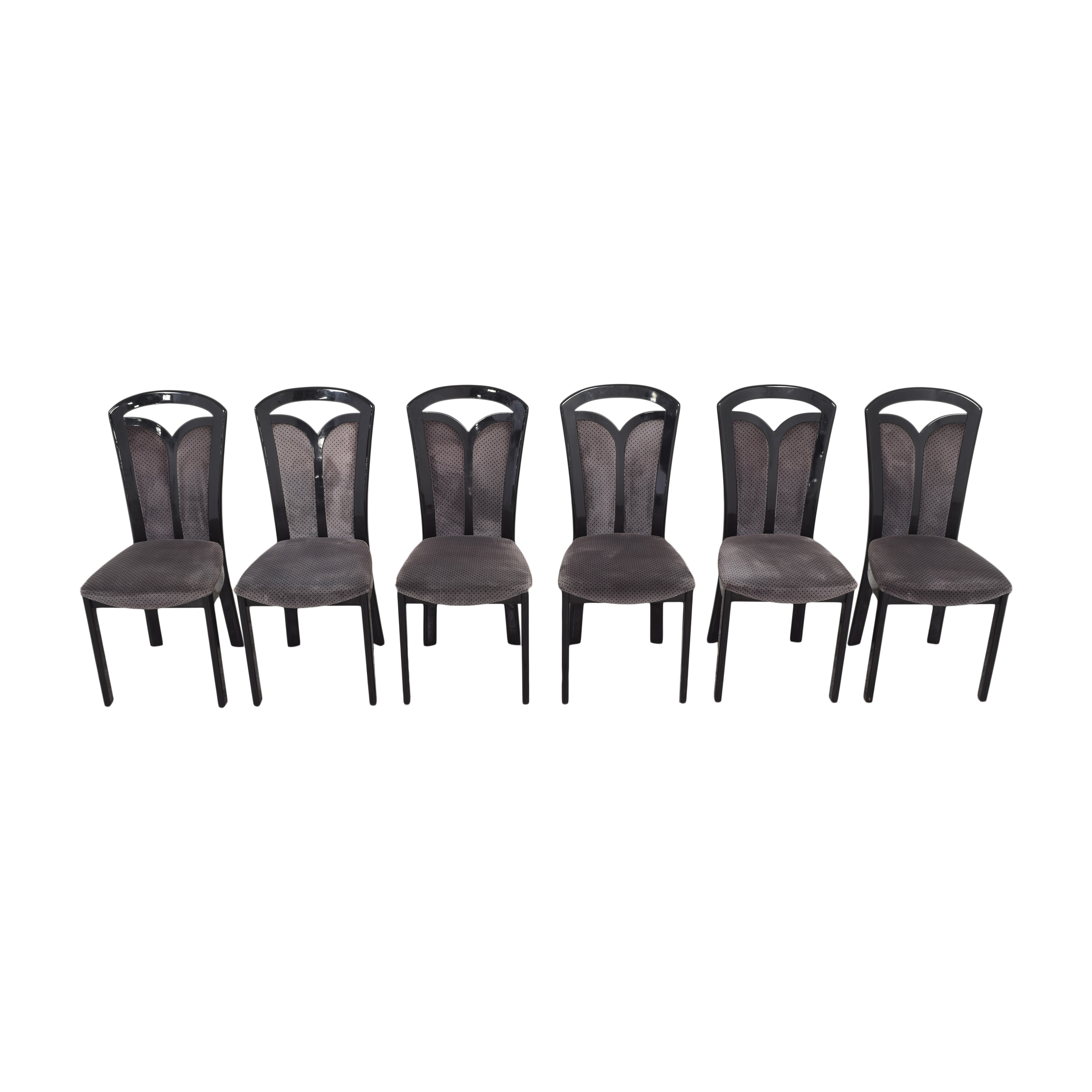 Maurice Villency Maurice Villency High Back Dining Chairs nyc