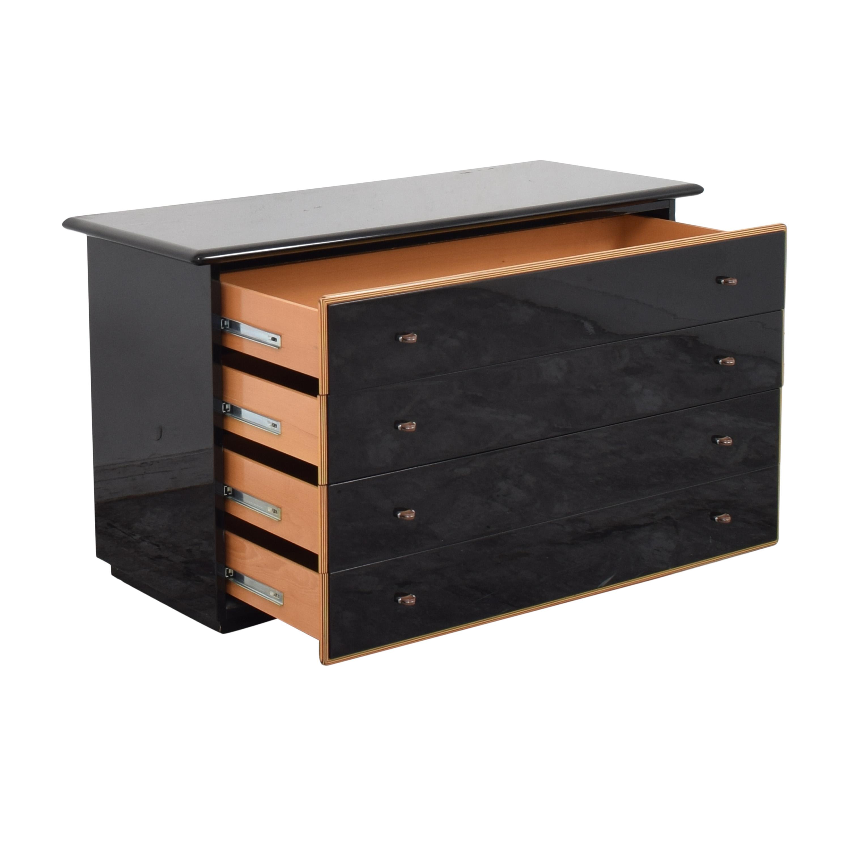buy Maurice Villency Four Drawer Dresser  Maurice Villency