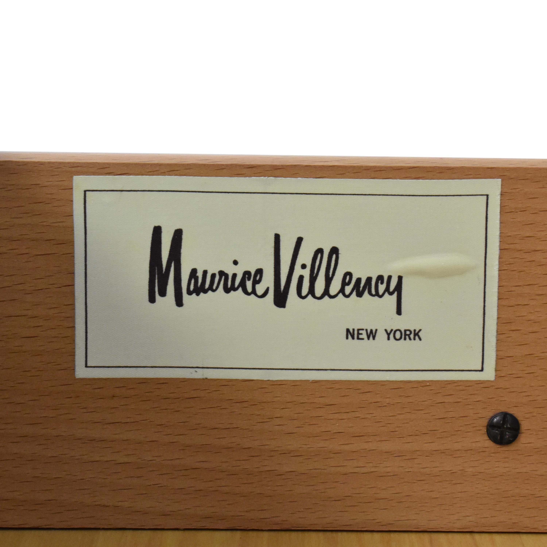 Maurice Villency Maurice Villency Four Drawer Dresser  dimensions