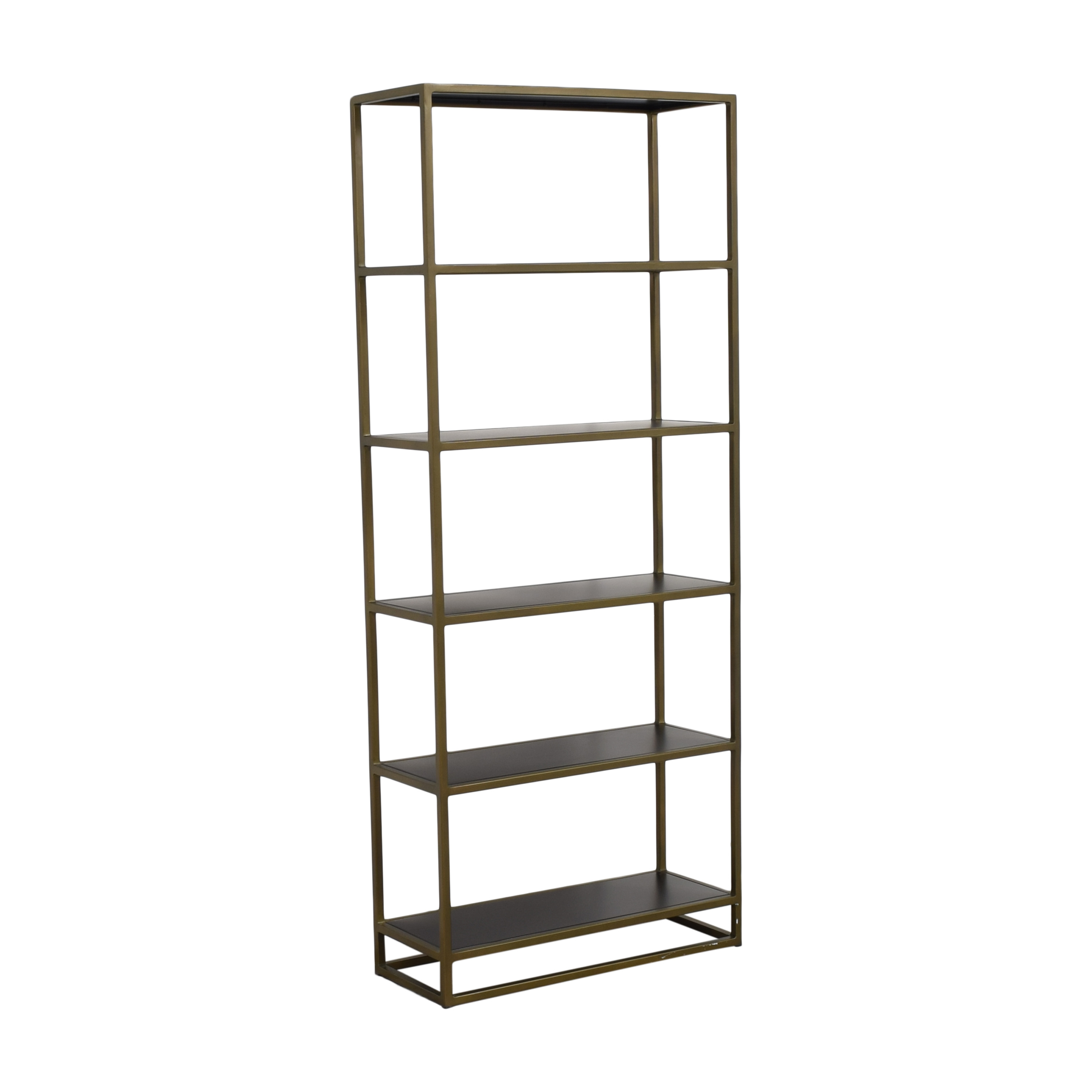 buy Crate & Barrel Remi Large Bookcase Crate & Barrel Bookcases & Shelving