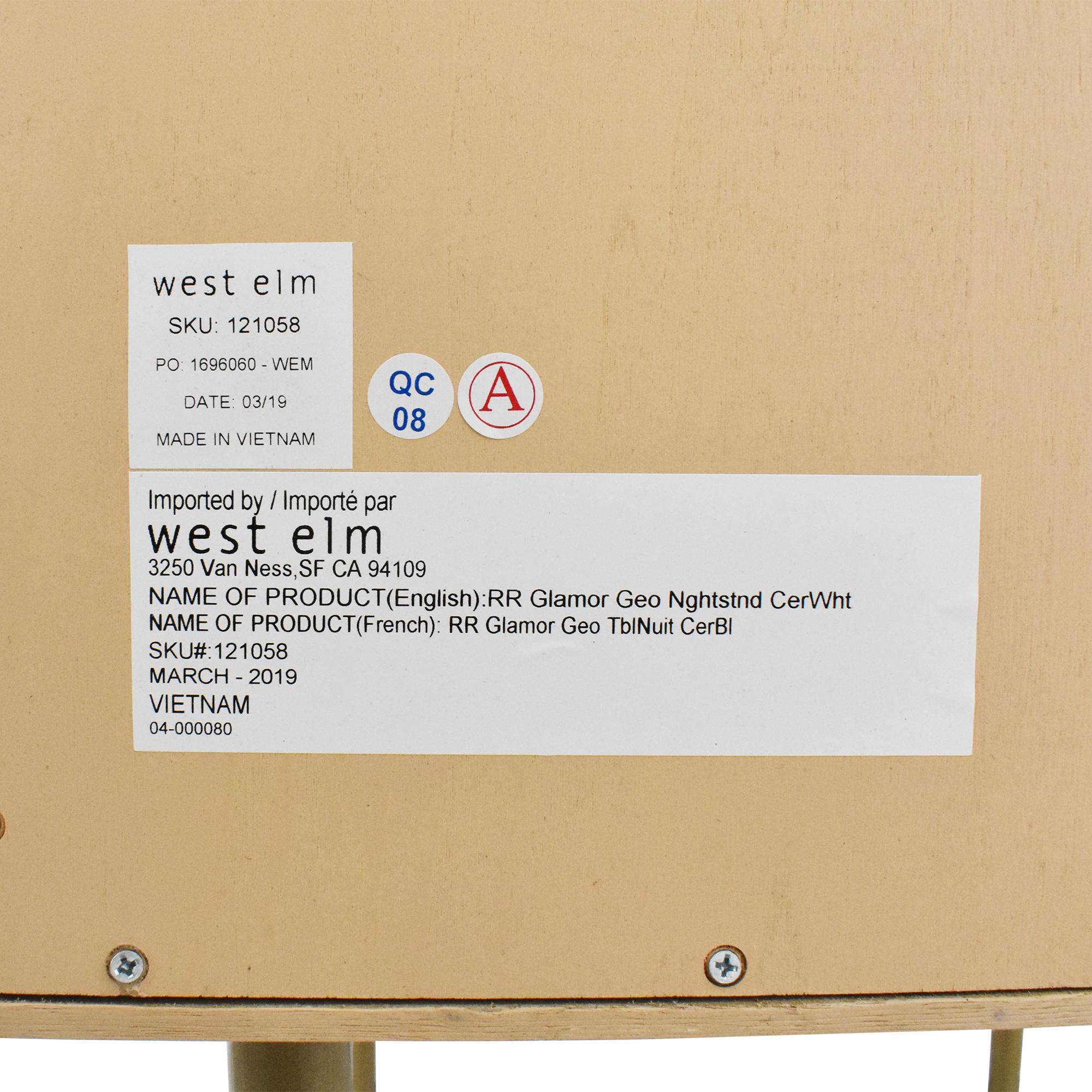 West Elm West Elm Jeweled Nightstand by Roar & Rabbit Tables