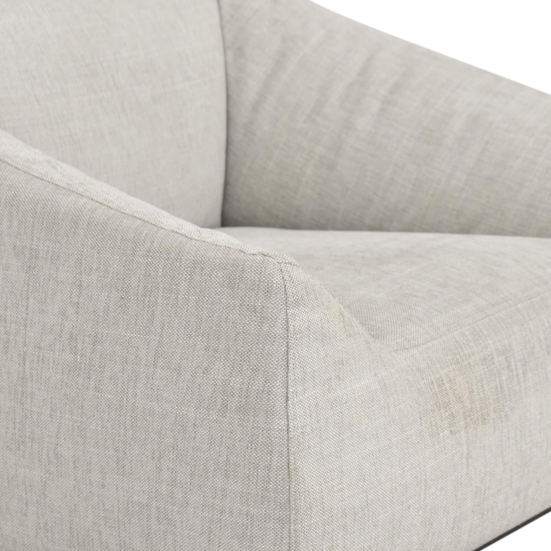 Poliform Poliform Contemporary Club Chair nyc