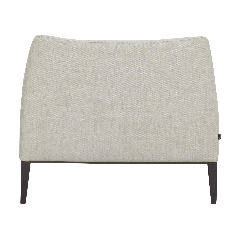 Poliform Contemporary Club Chair Poliform