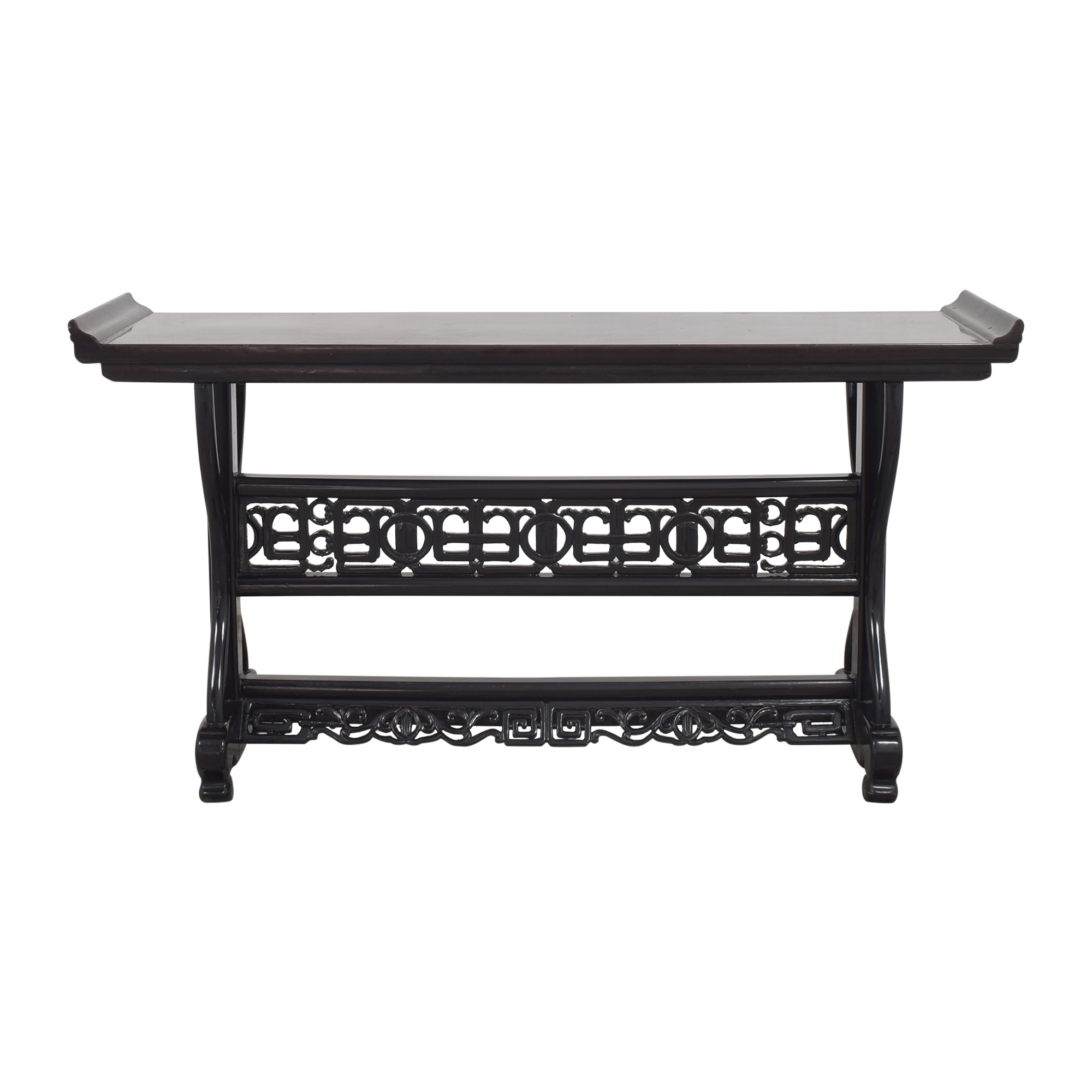 Carved Console Table discount