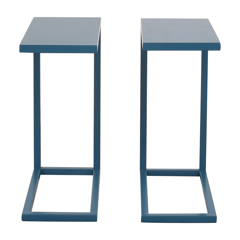 buy Crate & Barrel Avenue C Tables Crate & Barrel End Tables
