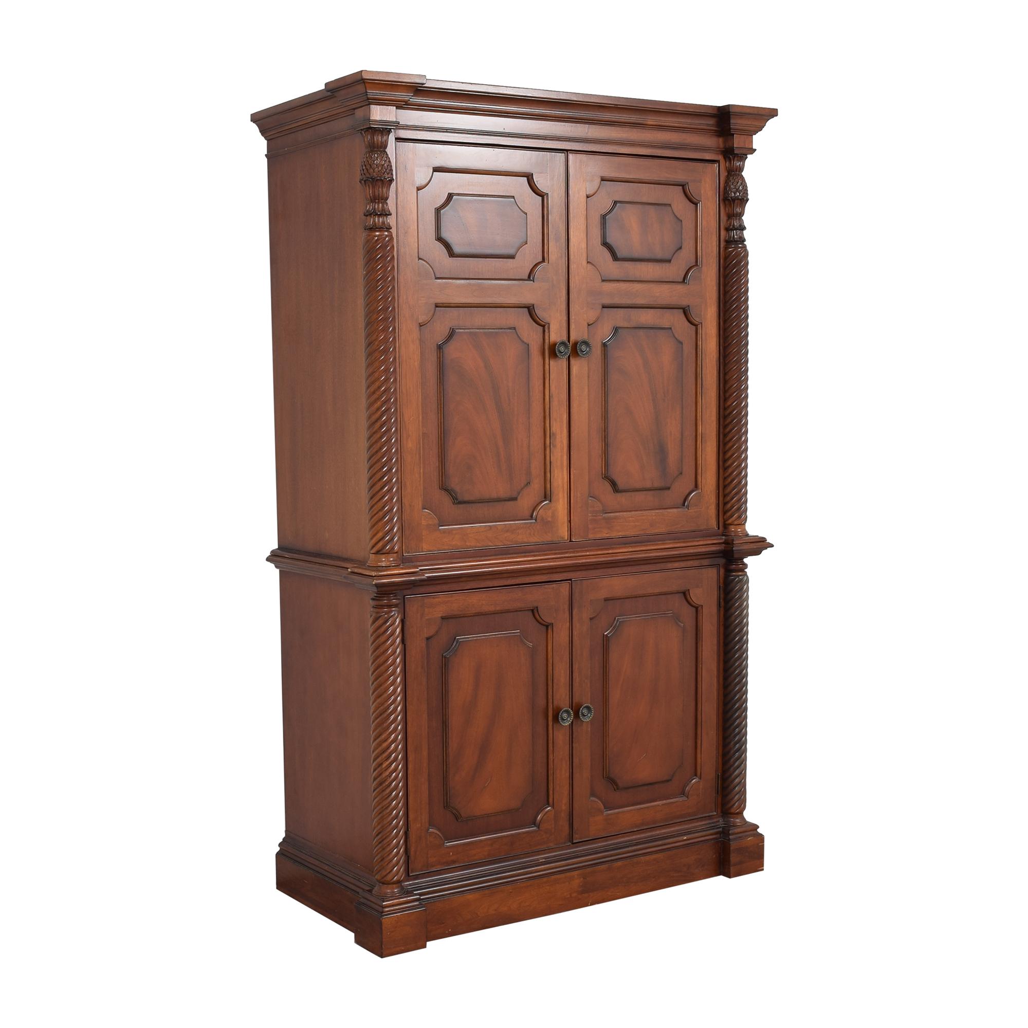 Four Door Armoire  for sale
