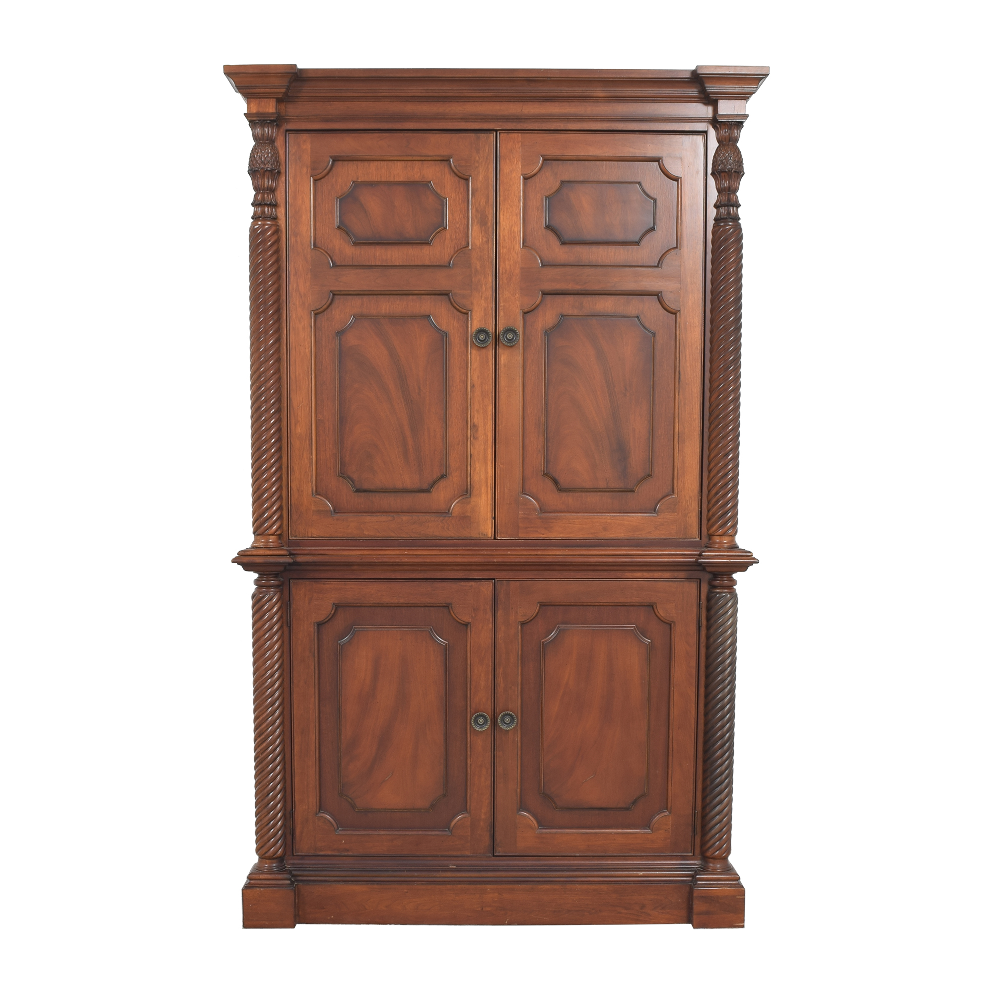 shop Four Door Armoire   Storage