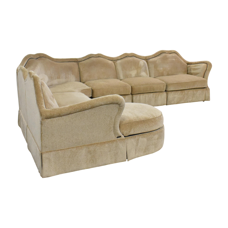 AICO AICO Toledo Chaise Sectional Sofa ct