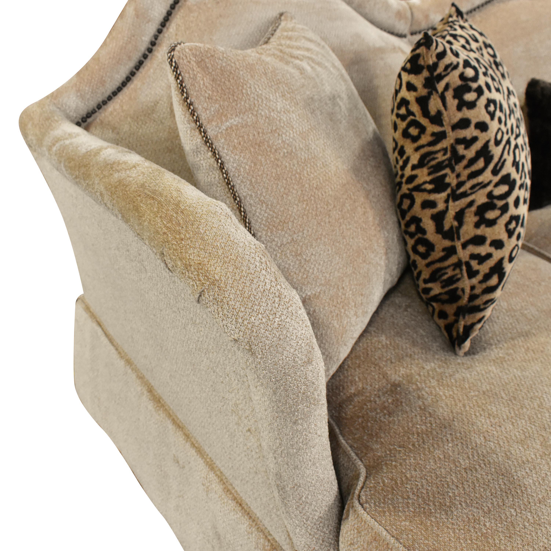 AICO Toledo Chaise Sectional Sofa sale