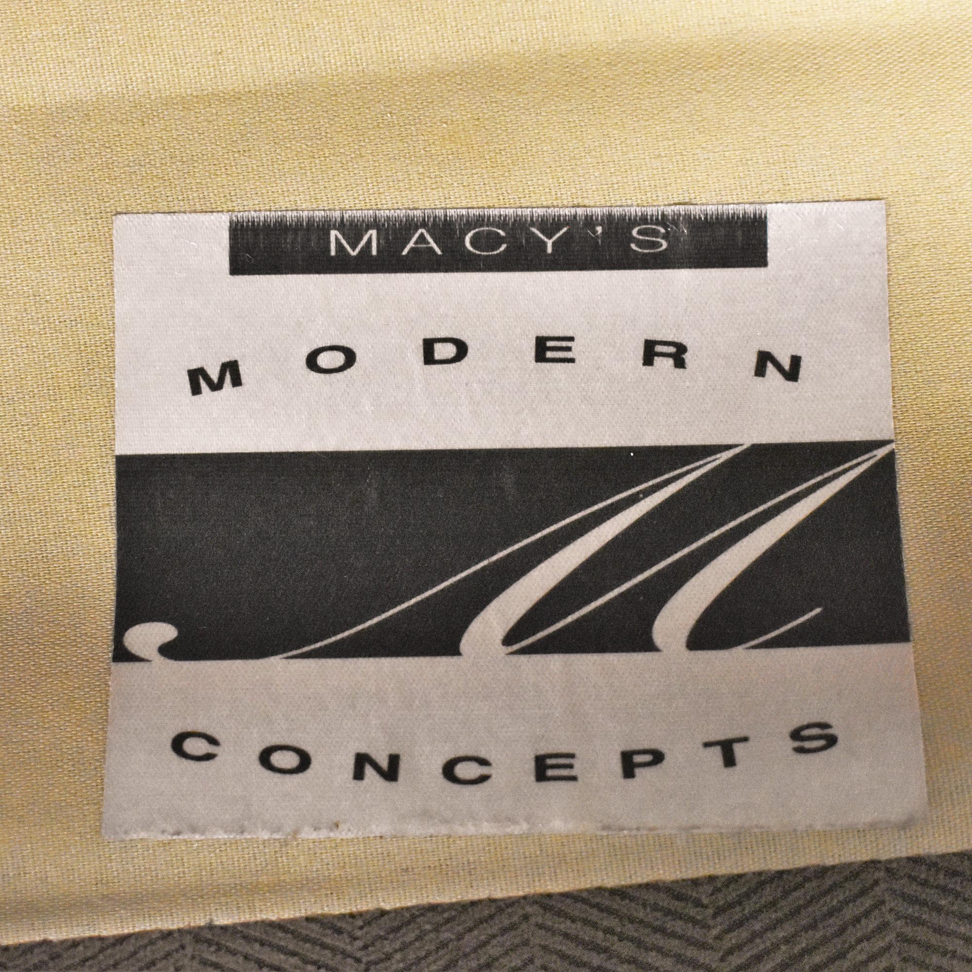 Macy's Macy's Modern Concepts Two Cushion Sofa on sale