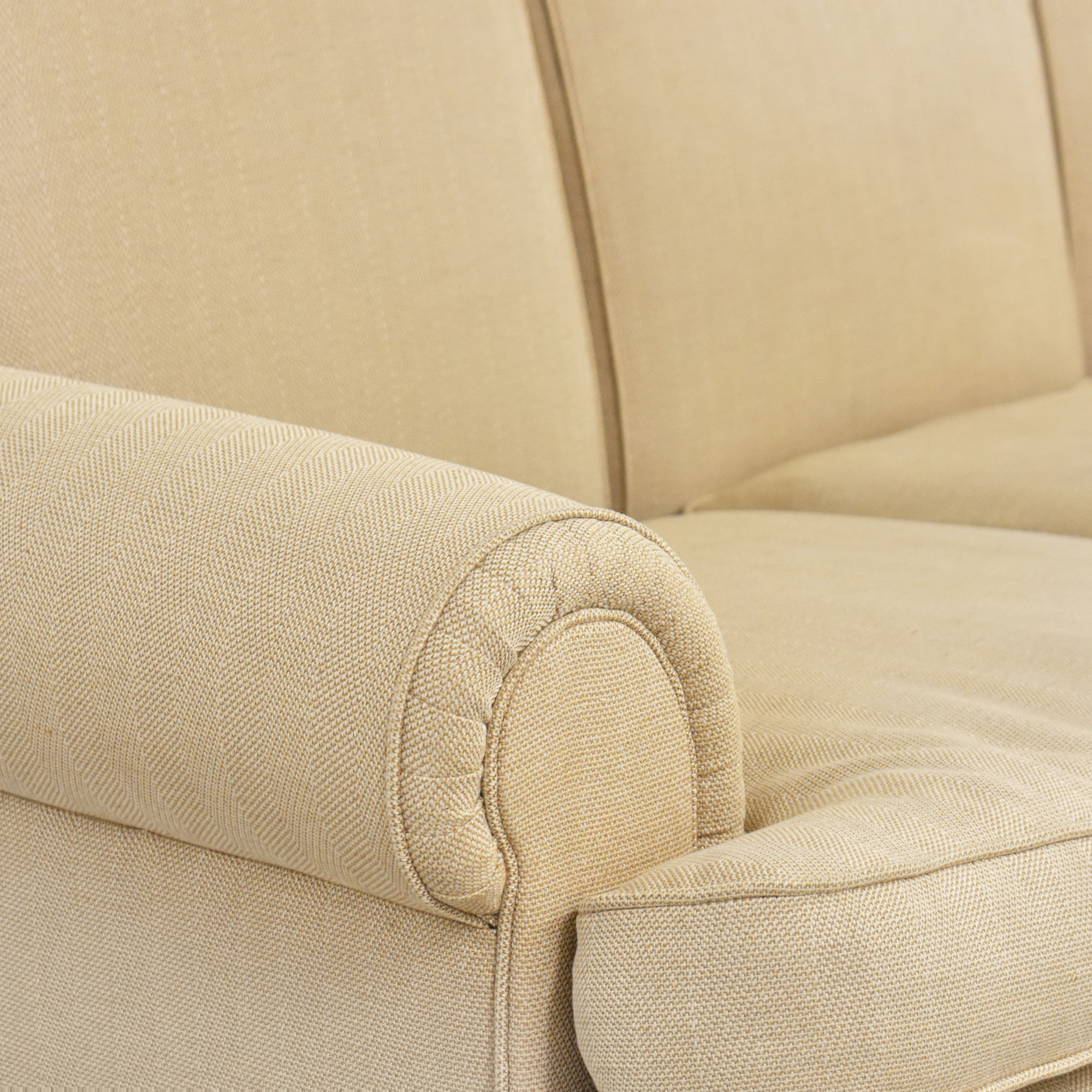 buy Ralph Lauren Home Ralph Lauren Upholstered Roll Arm Sofa online