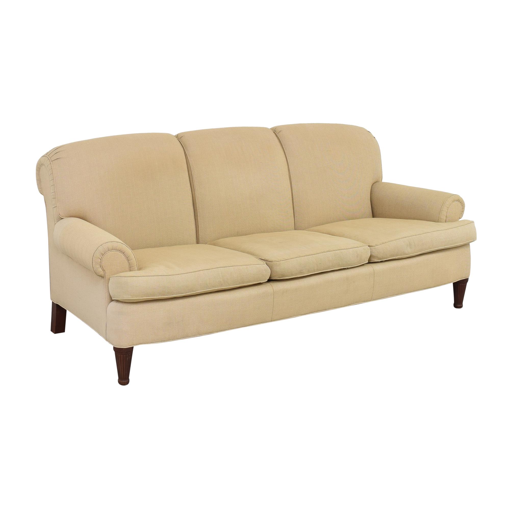 Ralph Lauren Home Ralph Lauren Upholstered Roll Arm Sofa coupon