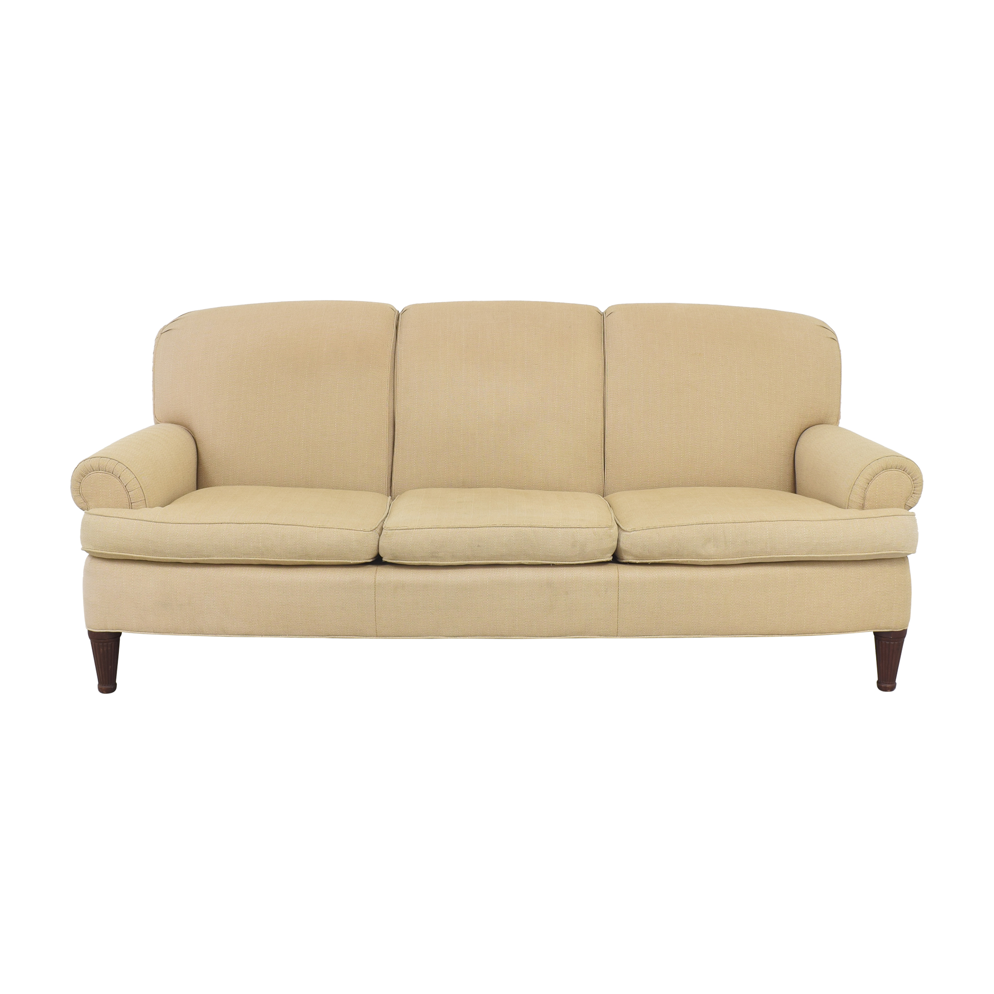 Ralph Lauren Home Ralph Lauren Upholstered Roll Arm Sofa used