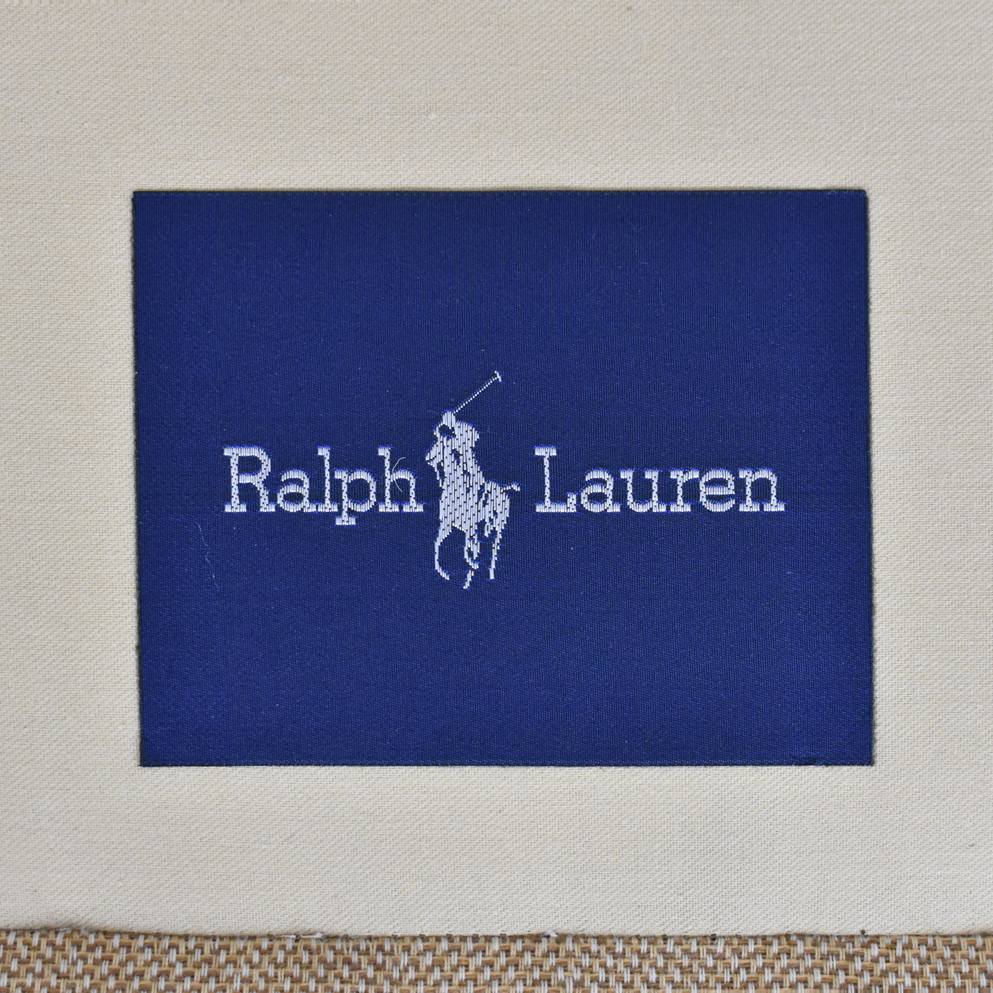 Ralph Lauren Home Ralph Lauren Upholstered Roll Arm Sofa