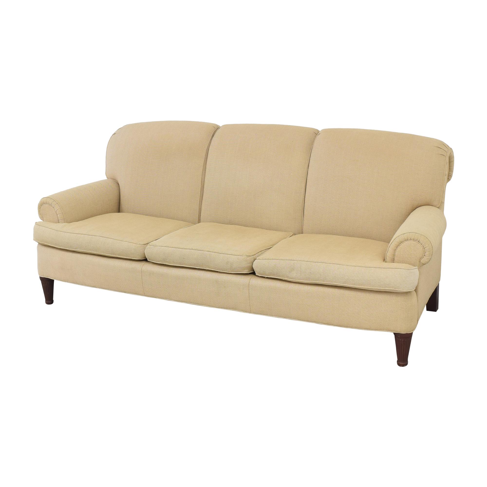 Ralph Lauren Home Ralph Lauren Upholstered Roll Arm Sofa second hand