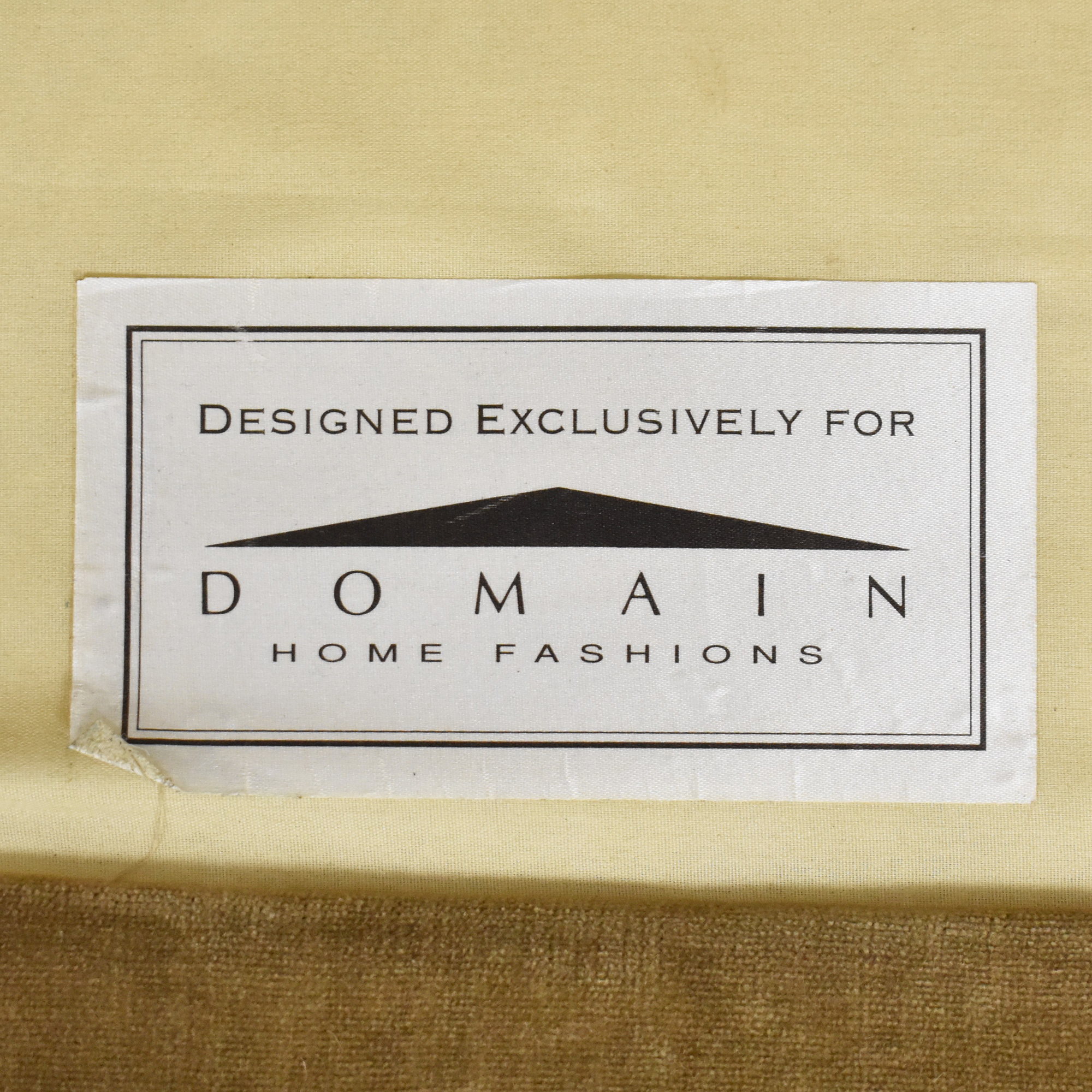 Domain Home Domain Home Floral and Stripe Accent Chair with Ottoman second hand