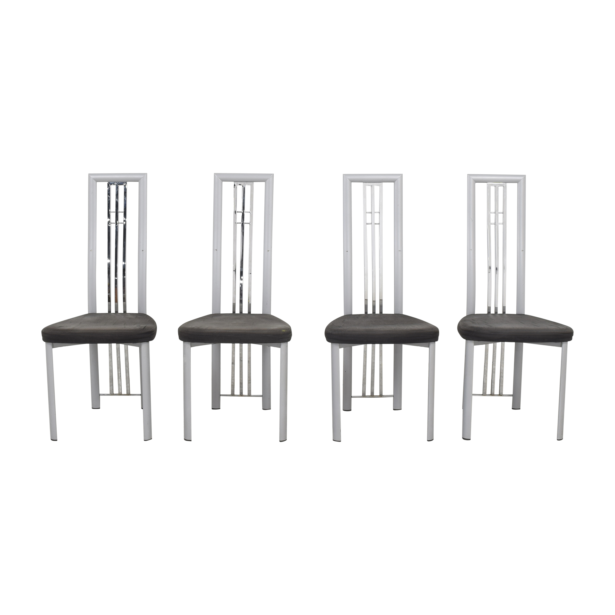 Effezeta Effezeta High Back Dining Chairs used