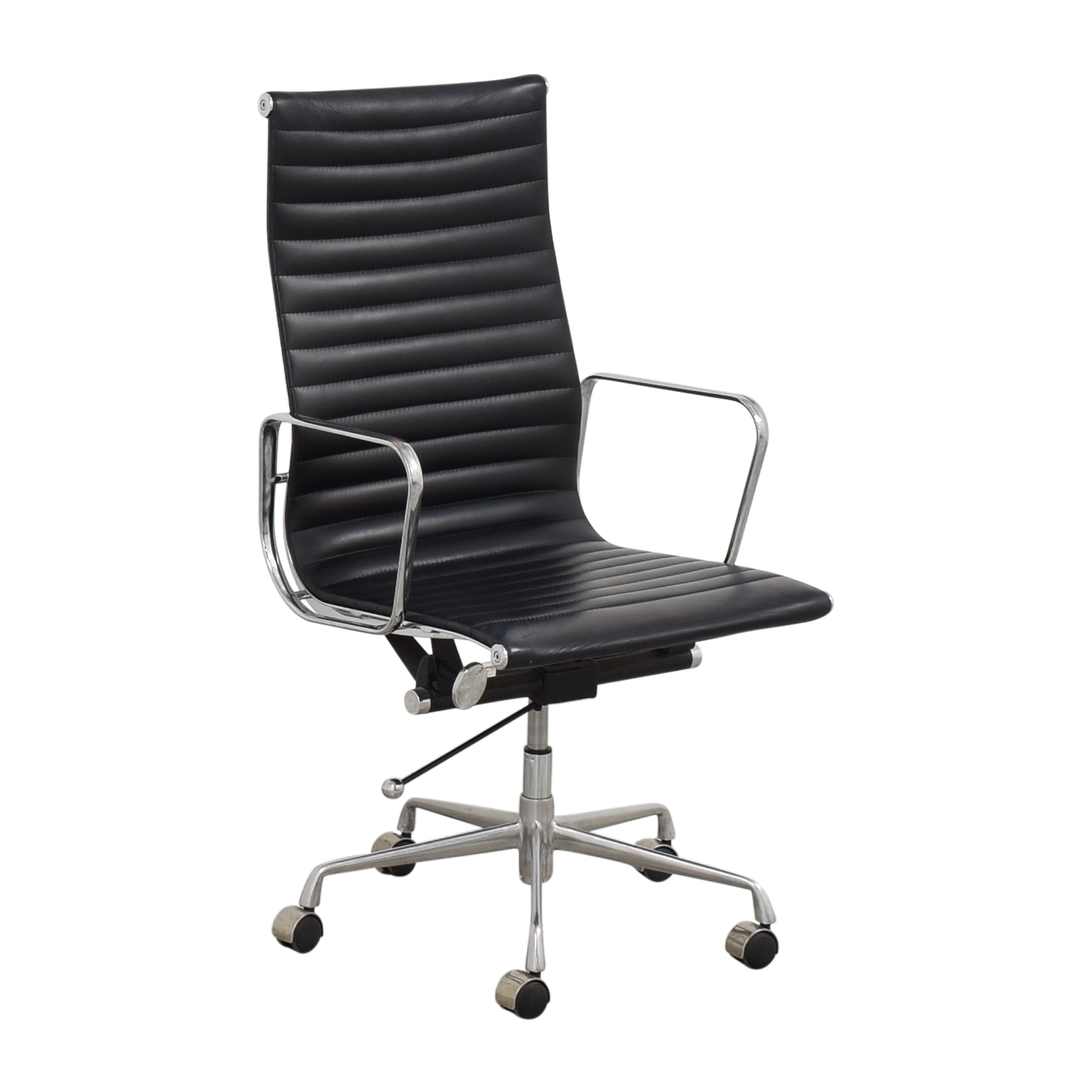 Eames-Style High Back Ribbed Office Chair price