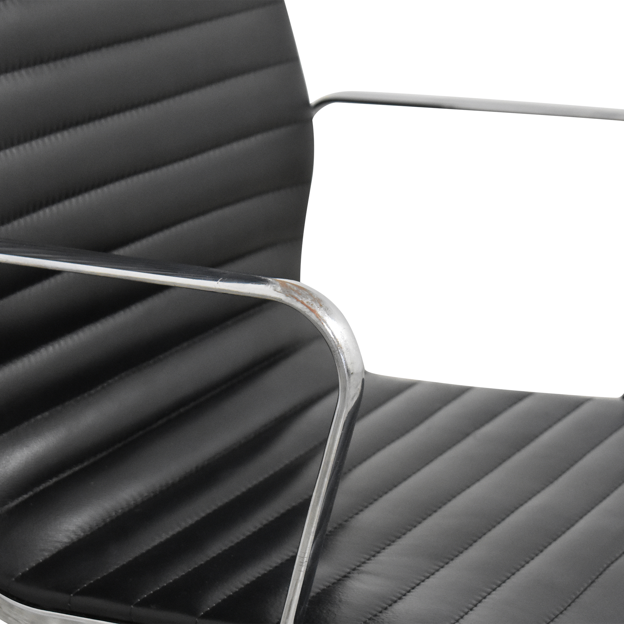 Eames-Style High Back Ribbed Office Chair nj