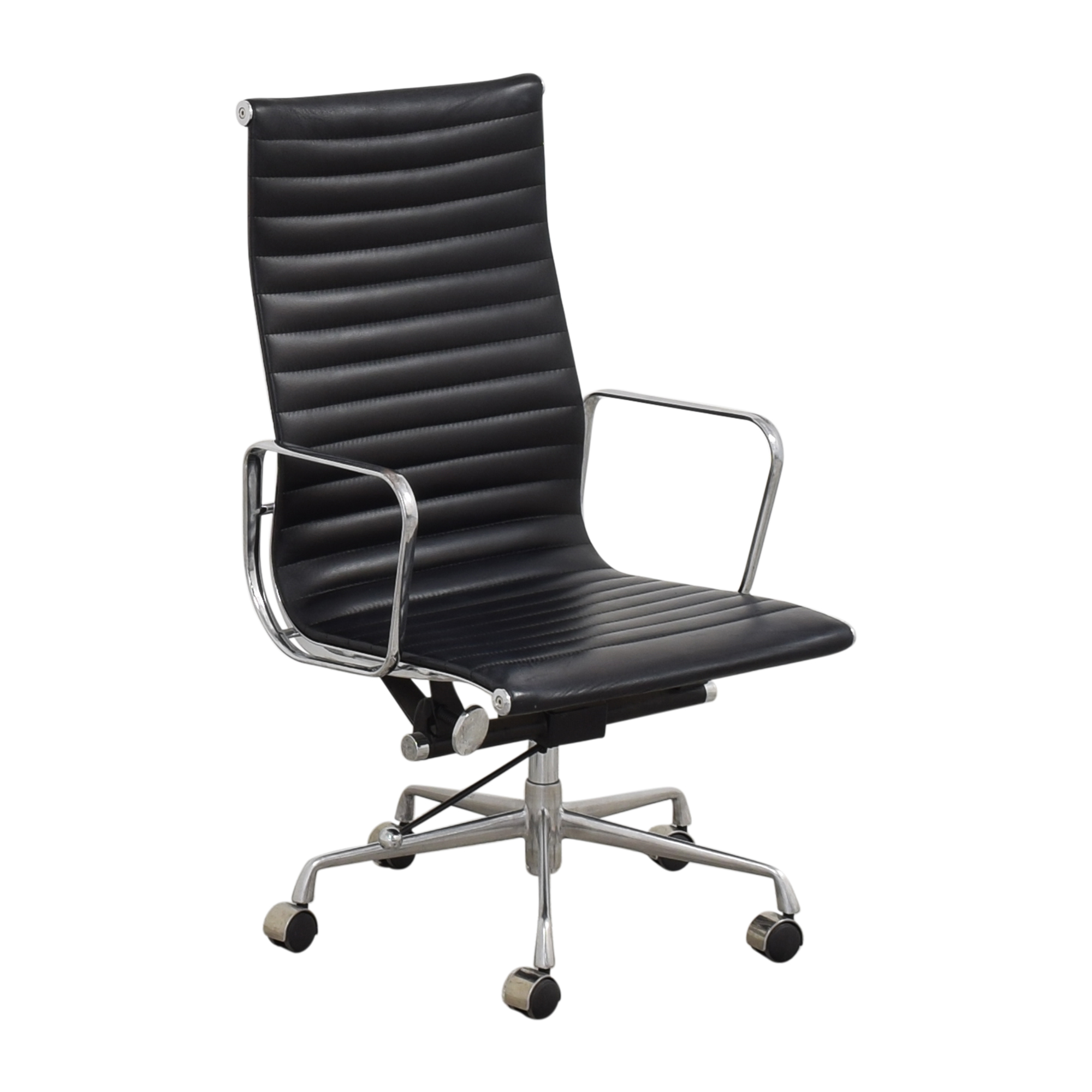 Eames-Style High Back Ribbed Office Chair ct