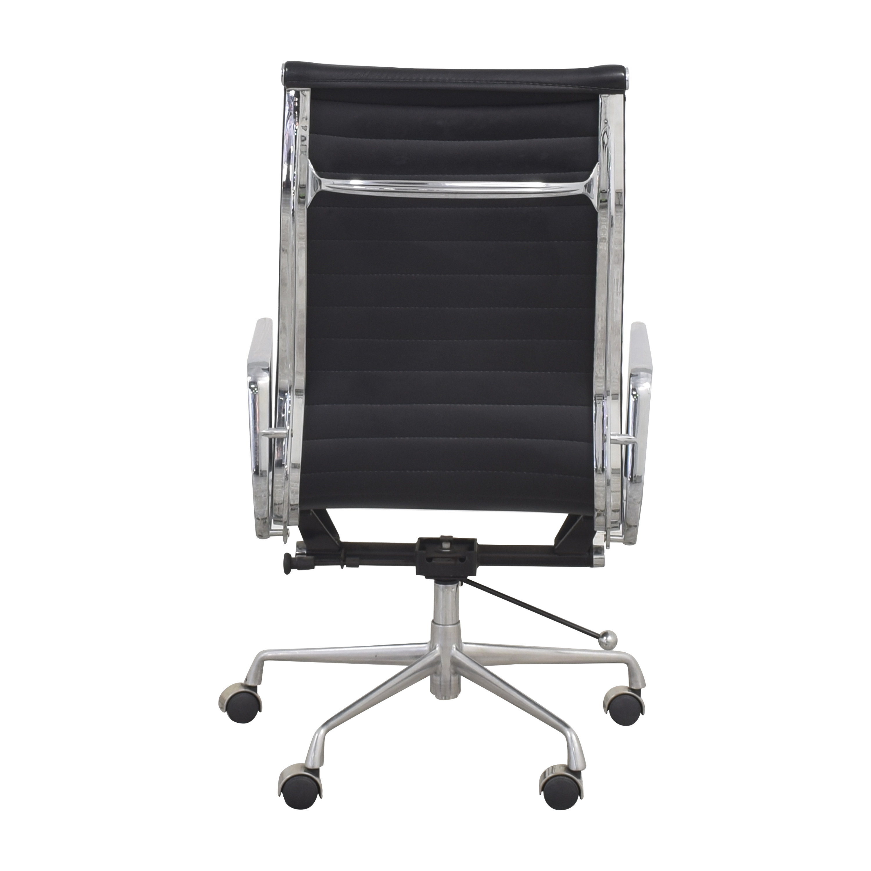 Eames-Style High Back Ribbed Office Chair
