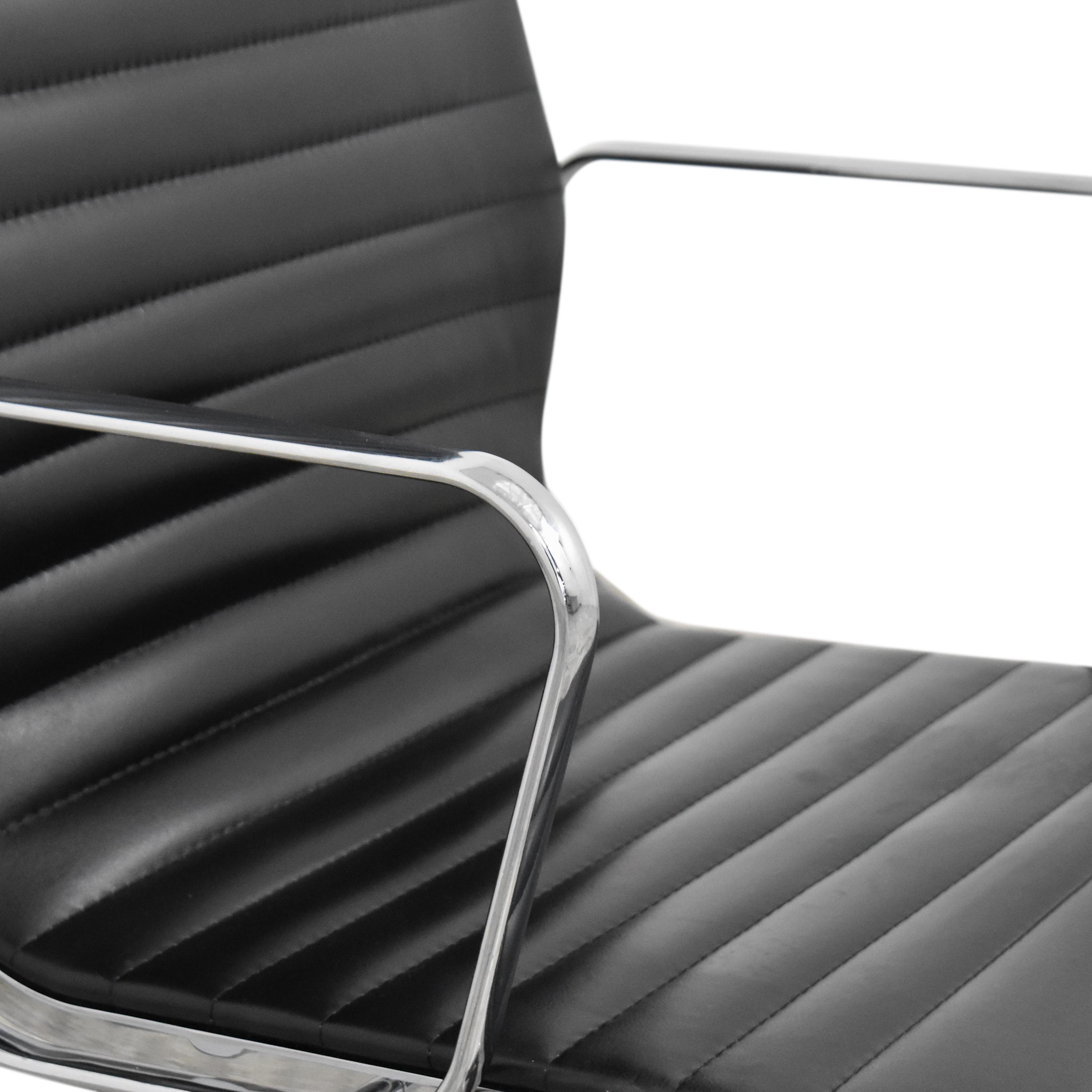 Eames-Style High Back Ribbed Office Chair sale