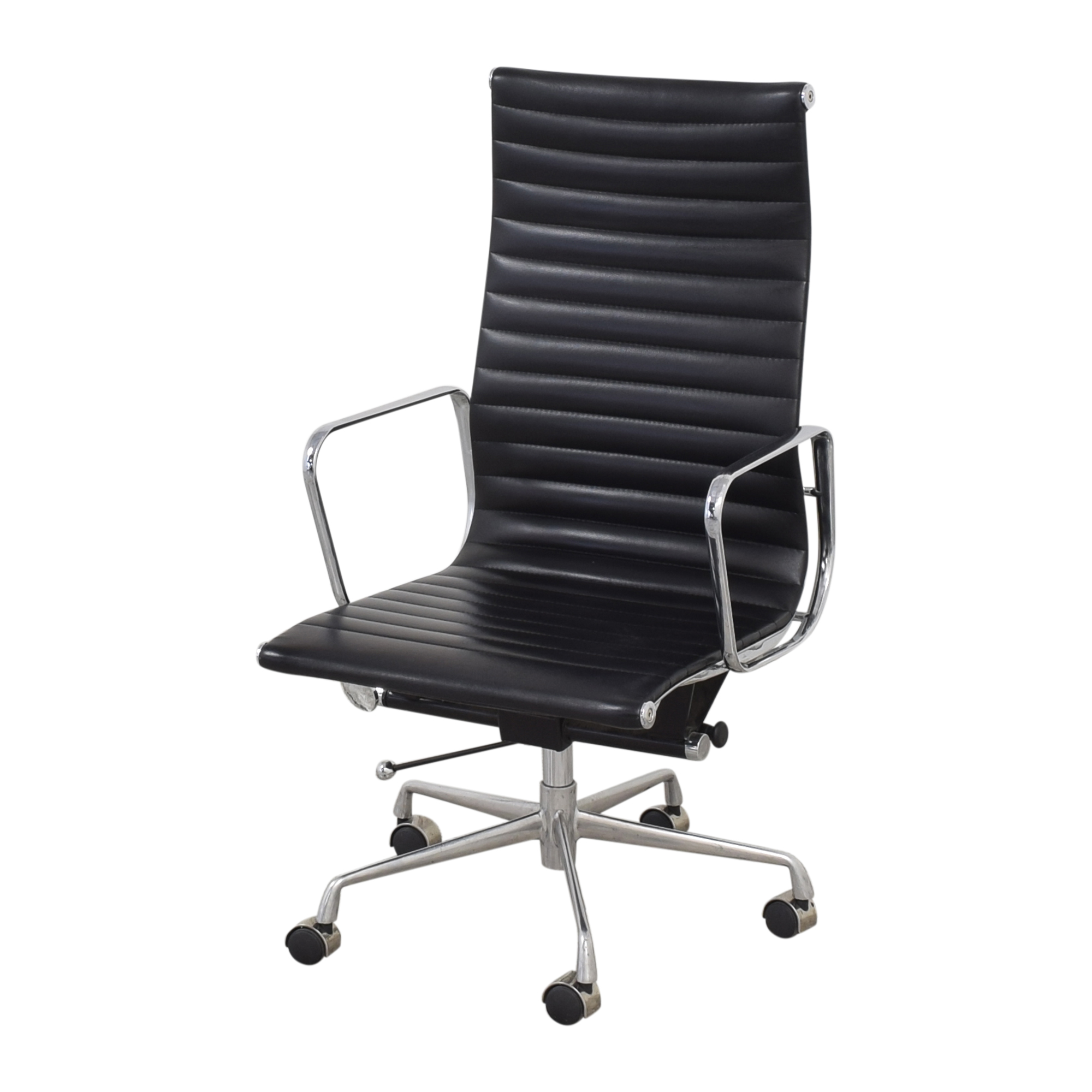 buy Eames-Style High Back Ribbed Office Chair  Chairs