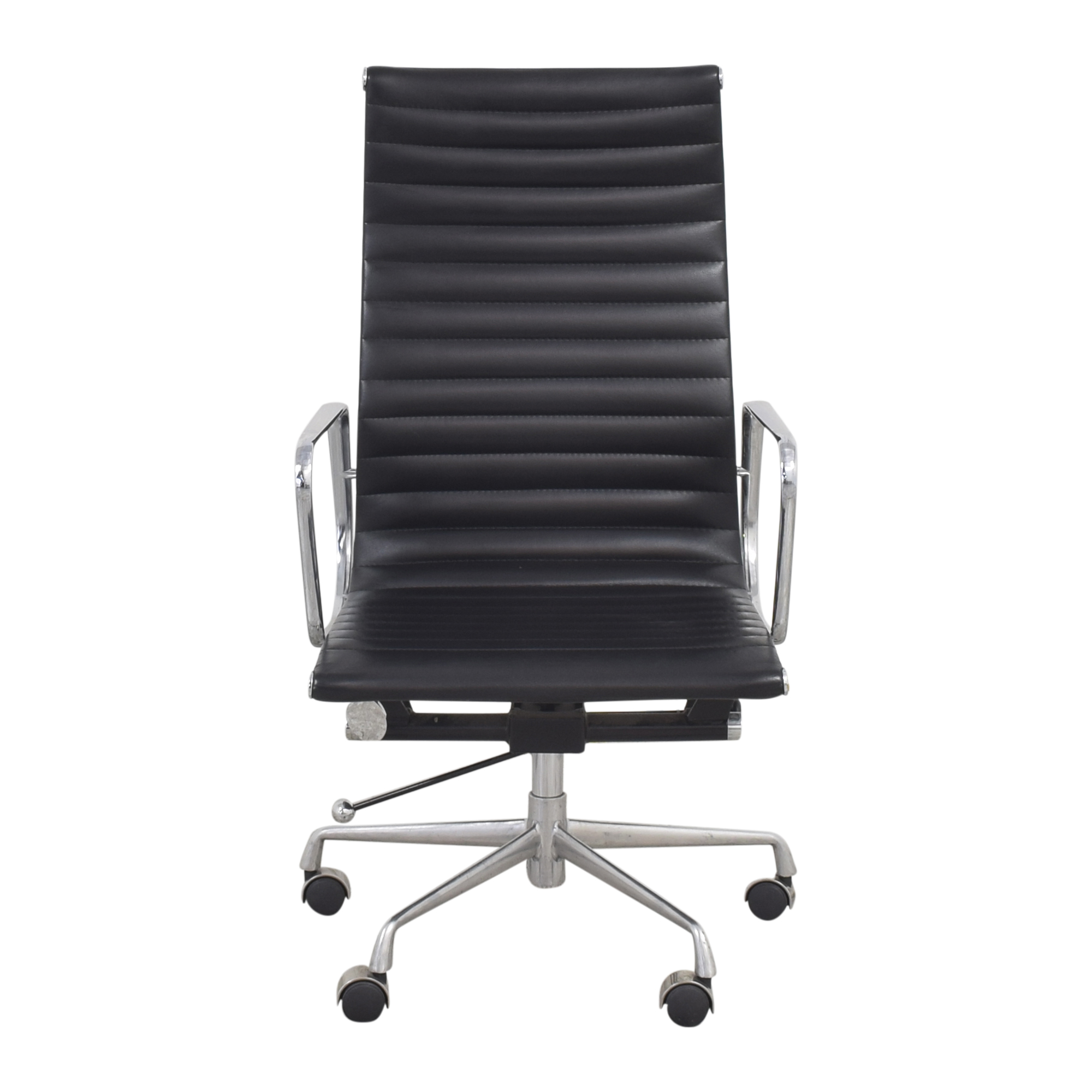 Eames-Style High Back Ribbed Office Chair discount