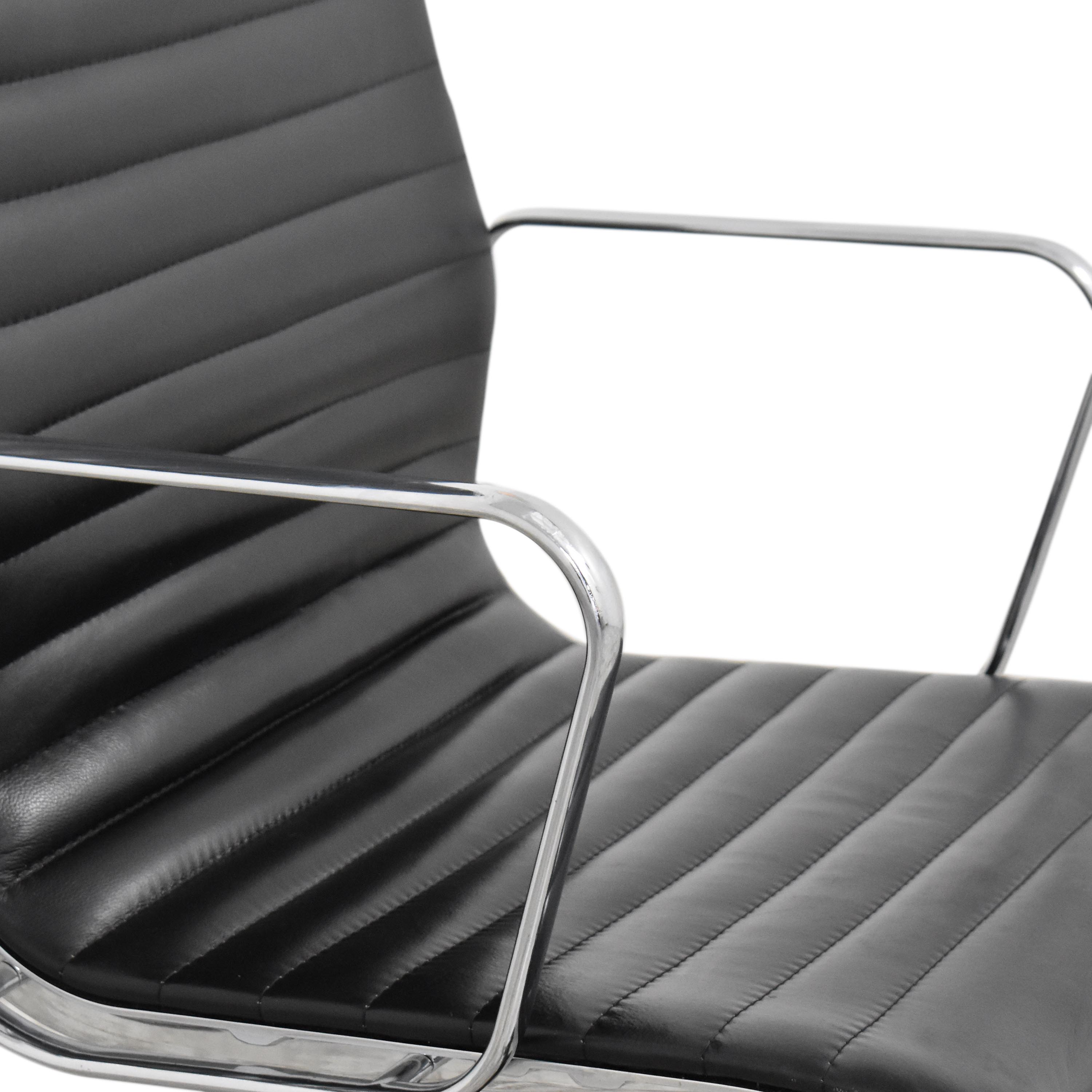 Eames-Style High Back Ribbed Office Chair / Home Office Chairs