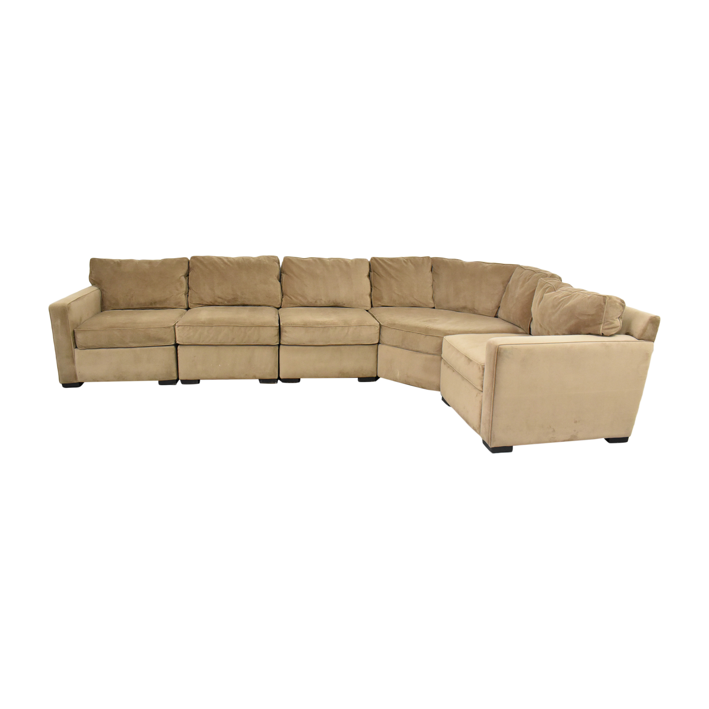 Macy's Macy's Five Piece Corner Sectional Sofa ct
