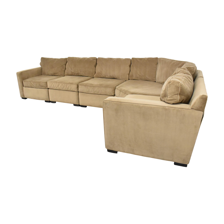 Macy's Macy's Five Piece Corner Sectional Sofa nj