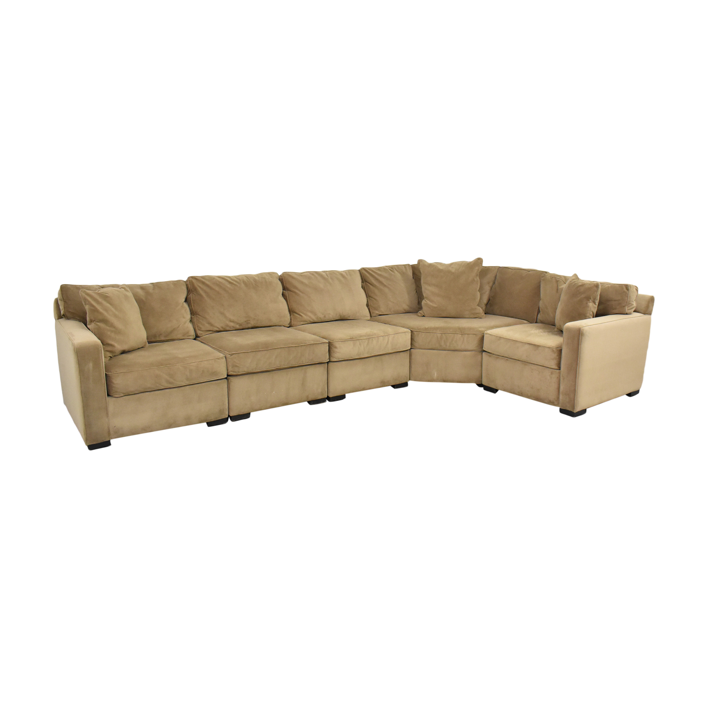Macy's Macy's Five Piece Corner Sectional Sofa second hand