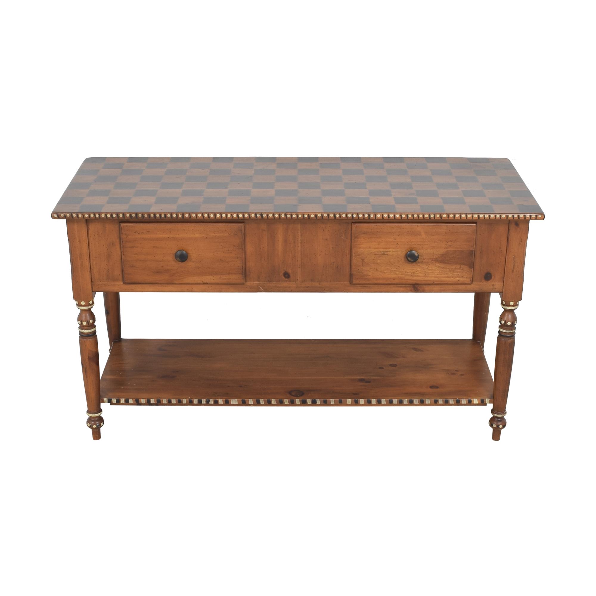 Habersham Habersham Console Table with Two Drawers nj
