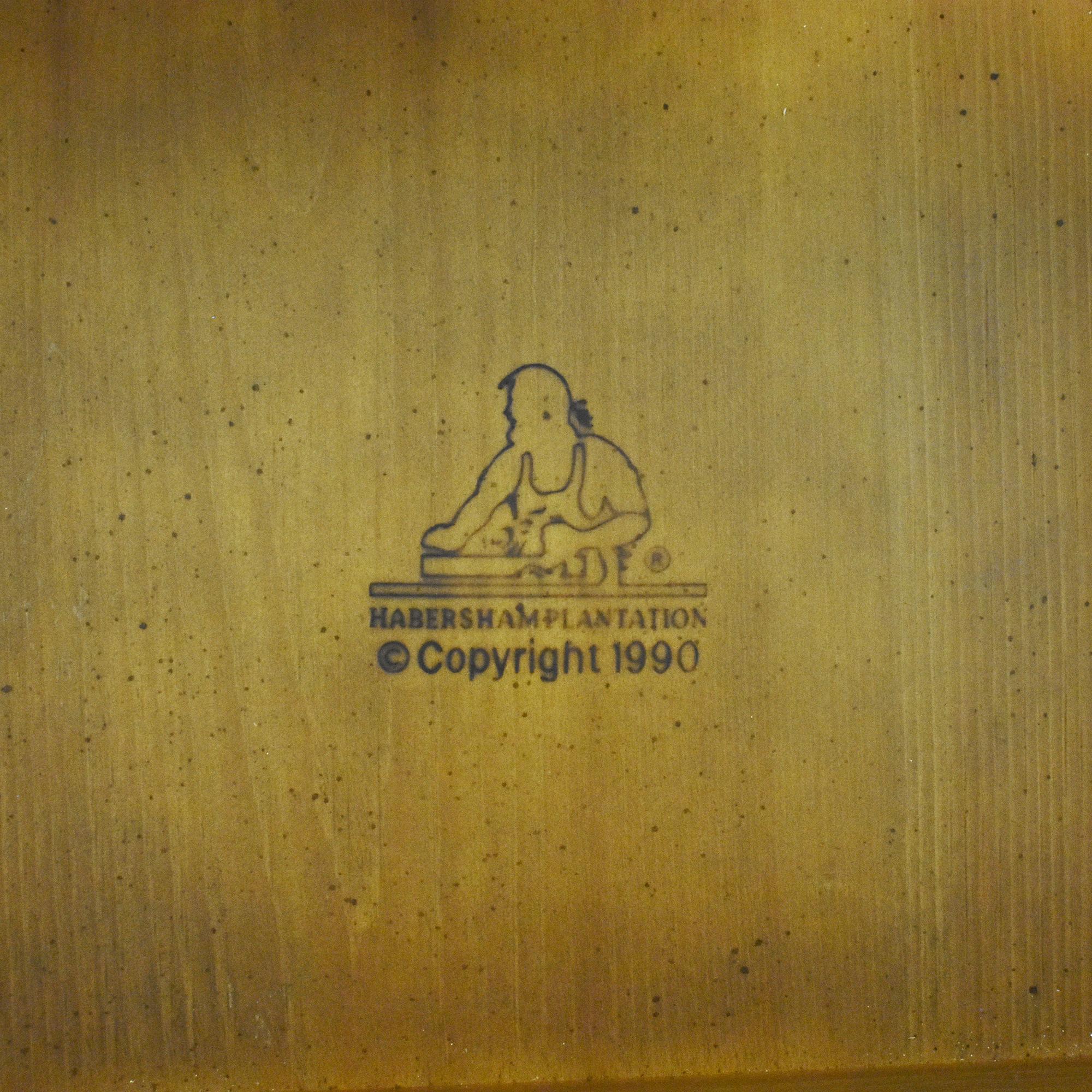 shop Habersham Console Table with Two Drawers Habersham