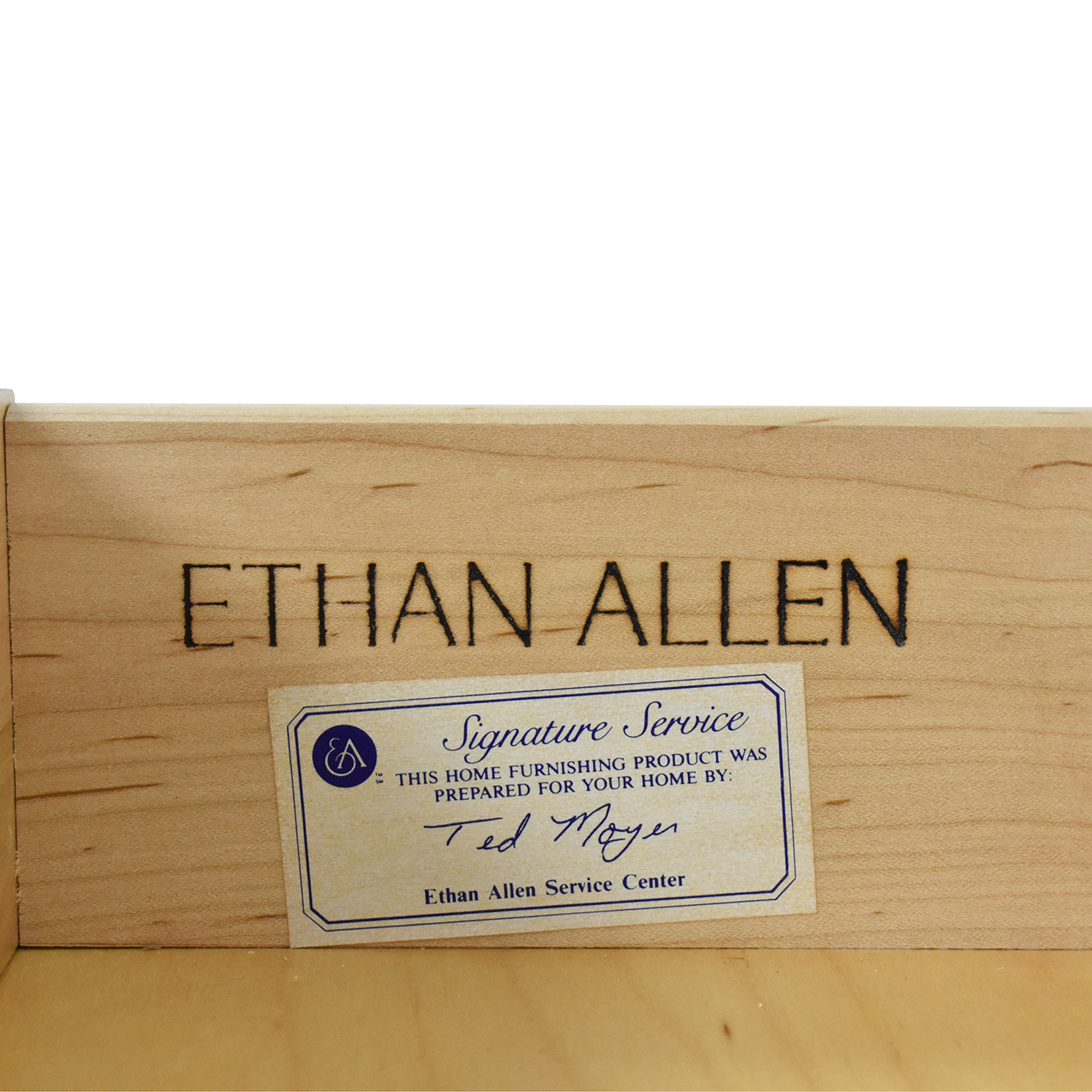 Ethan Allen Ethan Allen Legacy Collection Buffet Storage