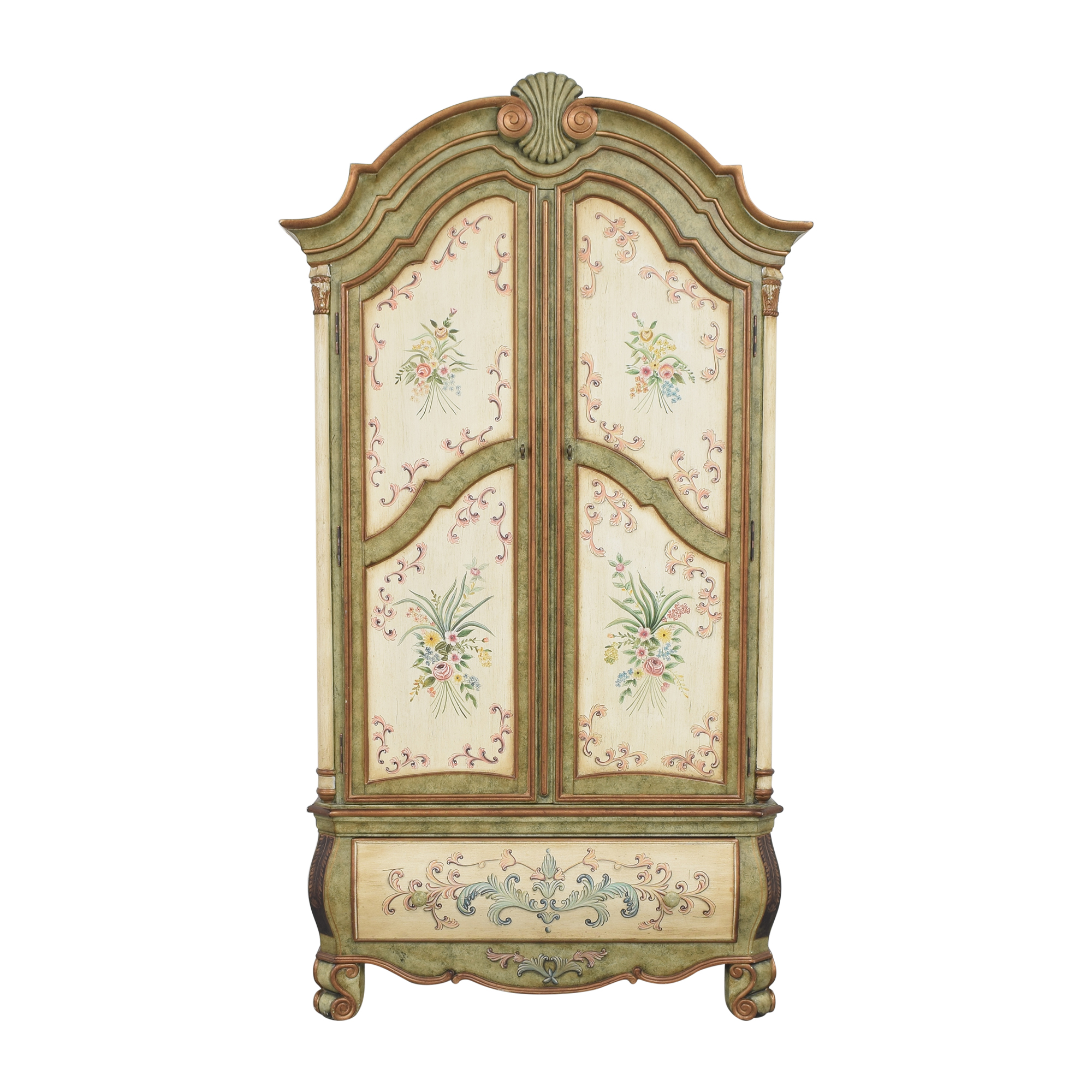 Huffman Koos Painted Armoire / Storage