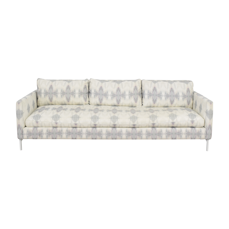 shop ABC Carpet & Home Eskayel Ripple Pearl Sofa ABC Carpet & Home Sofas