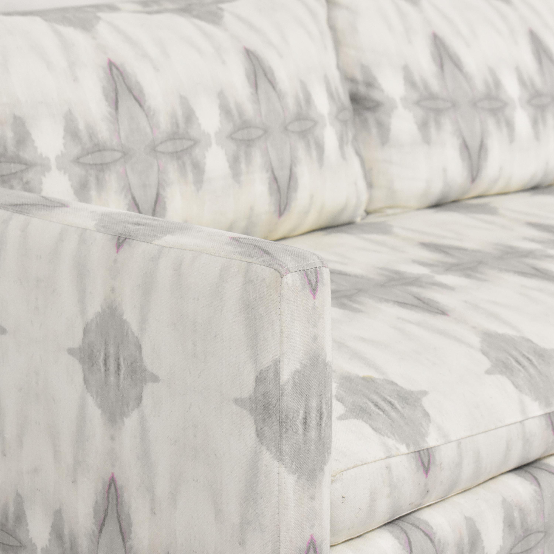 buy ABC Carpet & Home Eskayel Ripple Pearl Sofa ABC Carpet & Home Sofas
