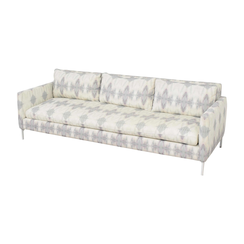 ABC Carpet & Home Eskayel Ripple Pearl Sofa ABC Carpet & Home
